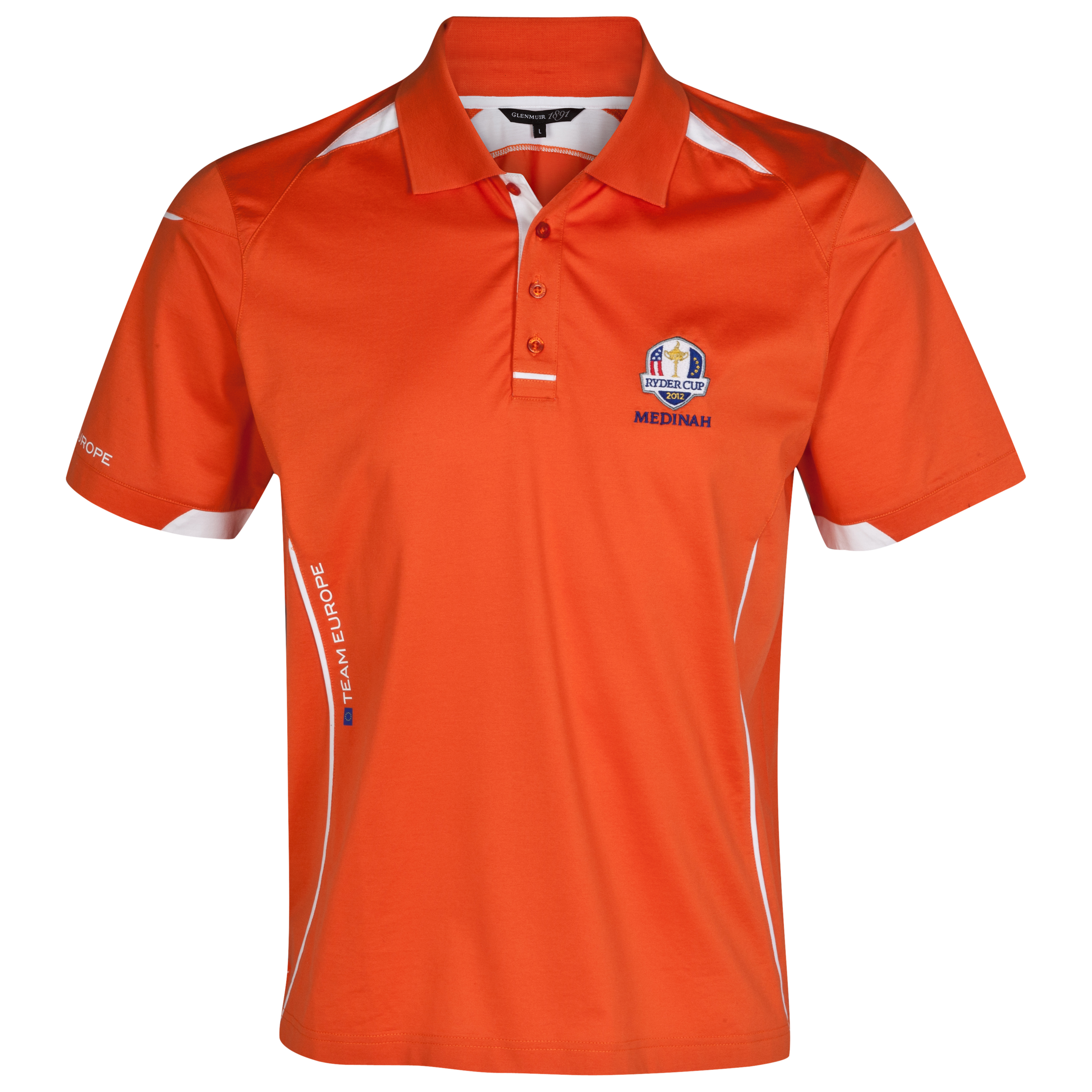 The Ryder Cup The 2012 Medinah European Team Polo Shirt Practice Day 1 (Tuesday) ? Designed by GlenmuirThe Preferred Supplier to the