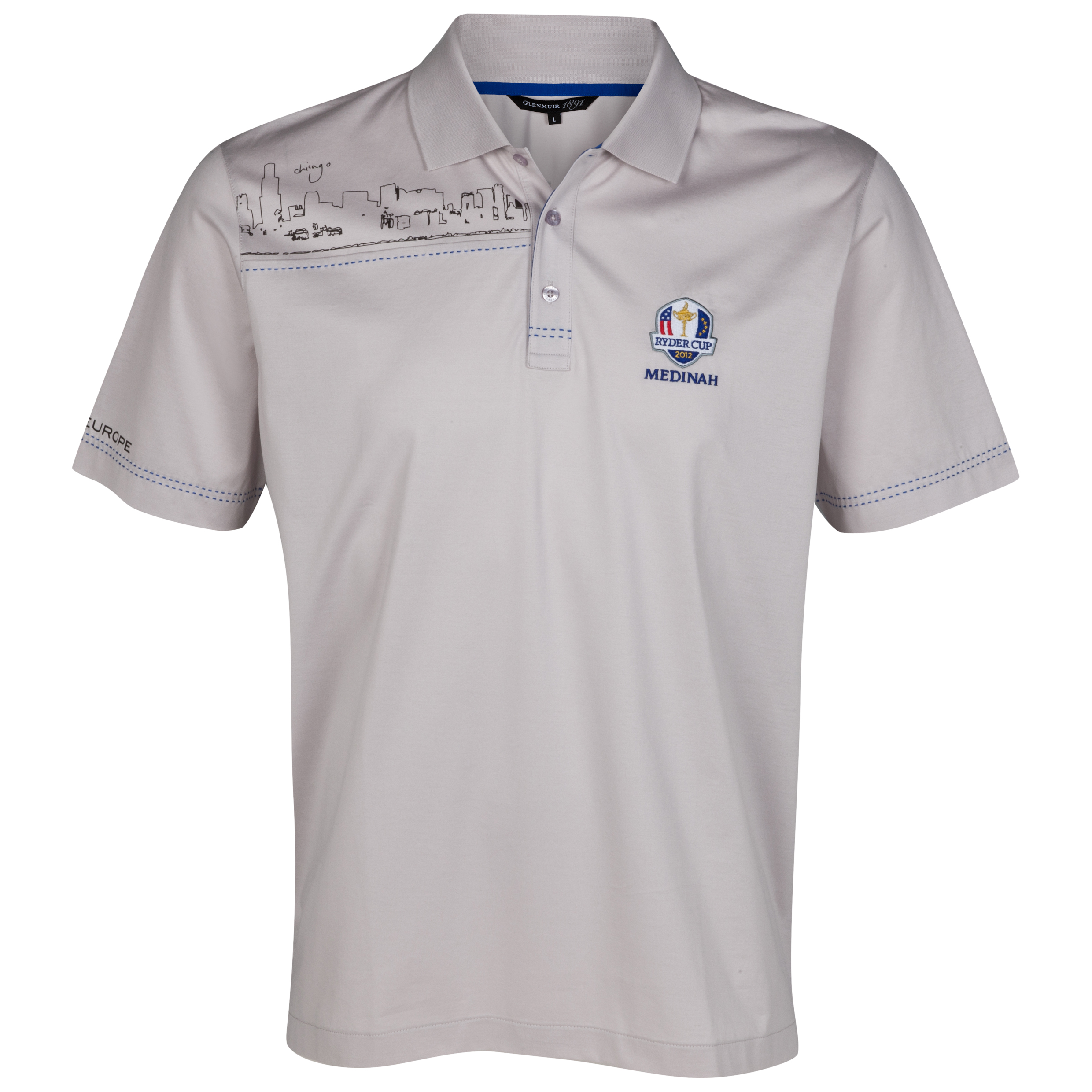 The 2012 Ryder Cup European Team Polo Shirt Practice Day 2 (Wednesday)