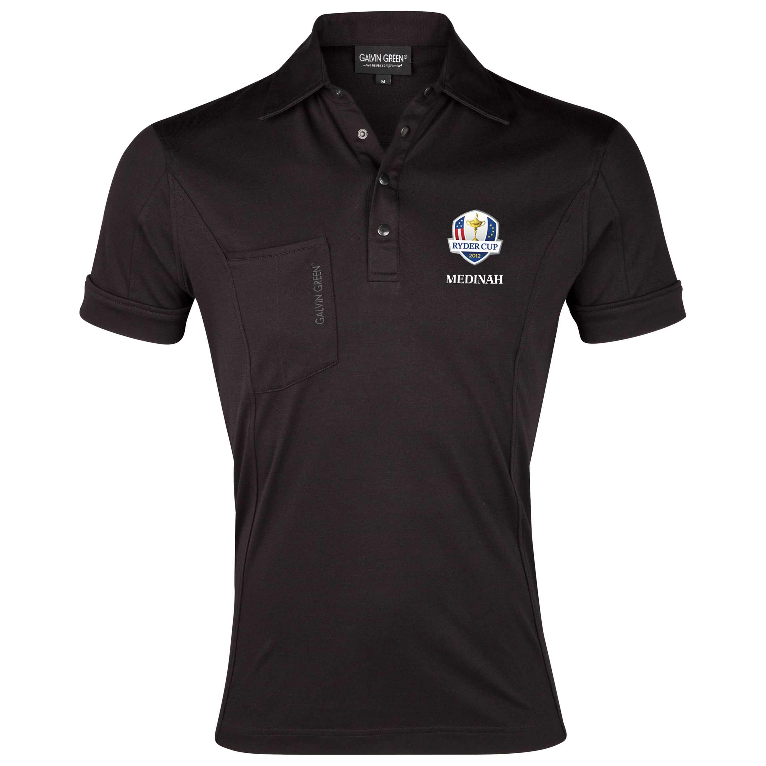 The 2012 Ryder Cup Galvin Green Golf Polo - Black