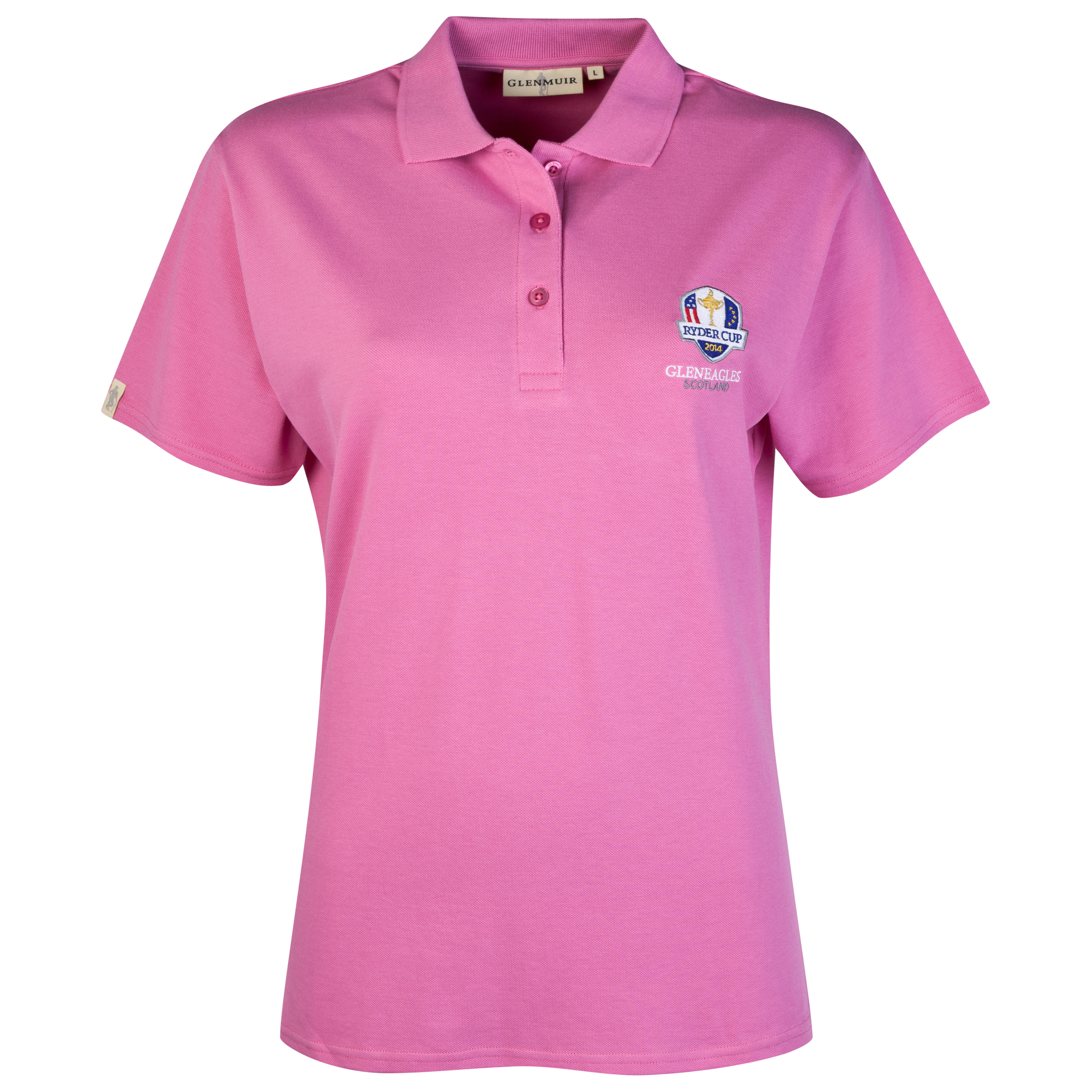 The 2014 Ryder Cup Glenmuir Sophie Womens Polo - Hot Pink