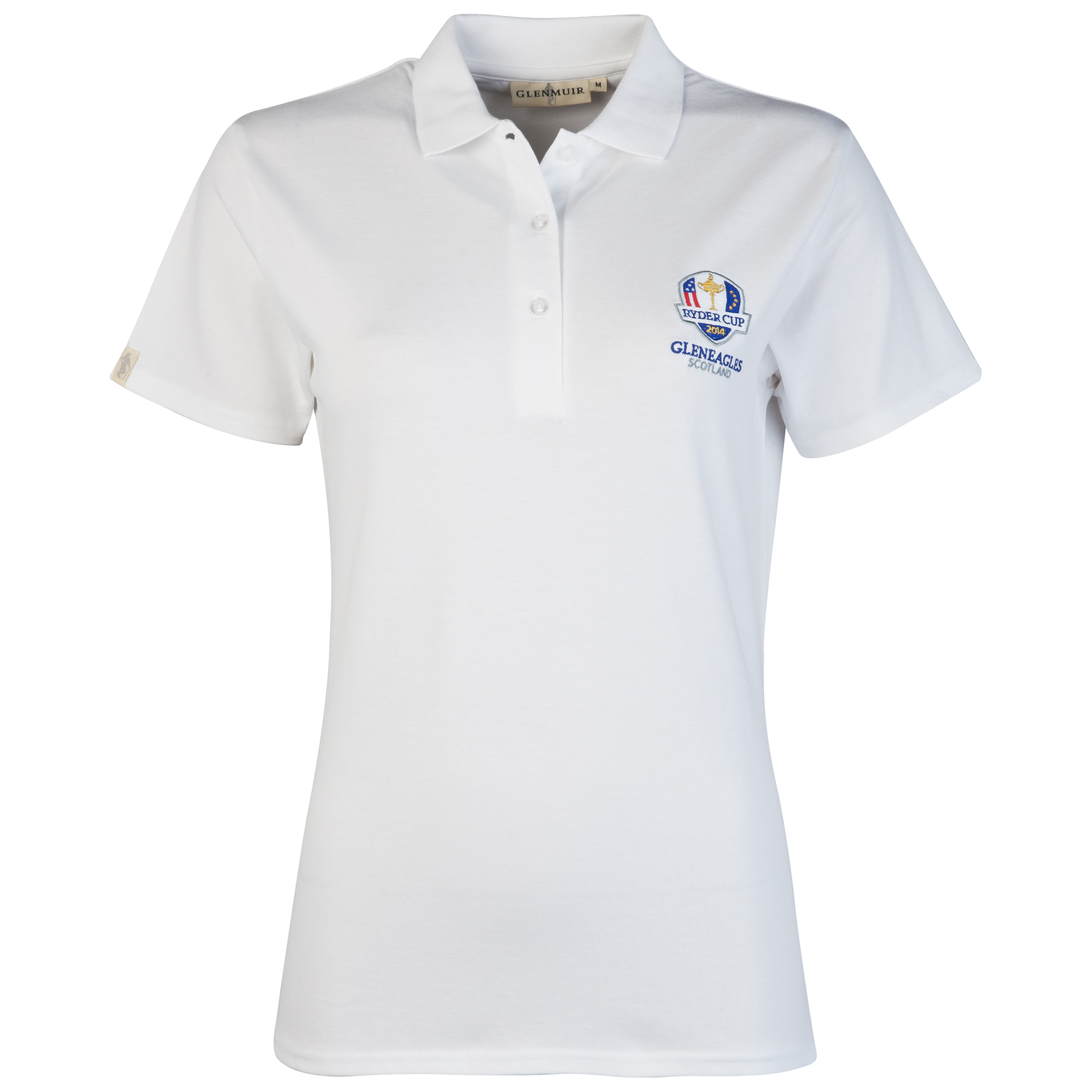 The 2014 Ryder Cup Glenmuir Sophie Womens Polo - White