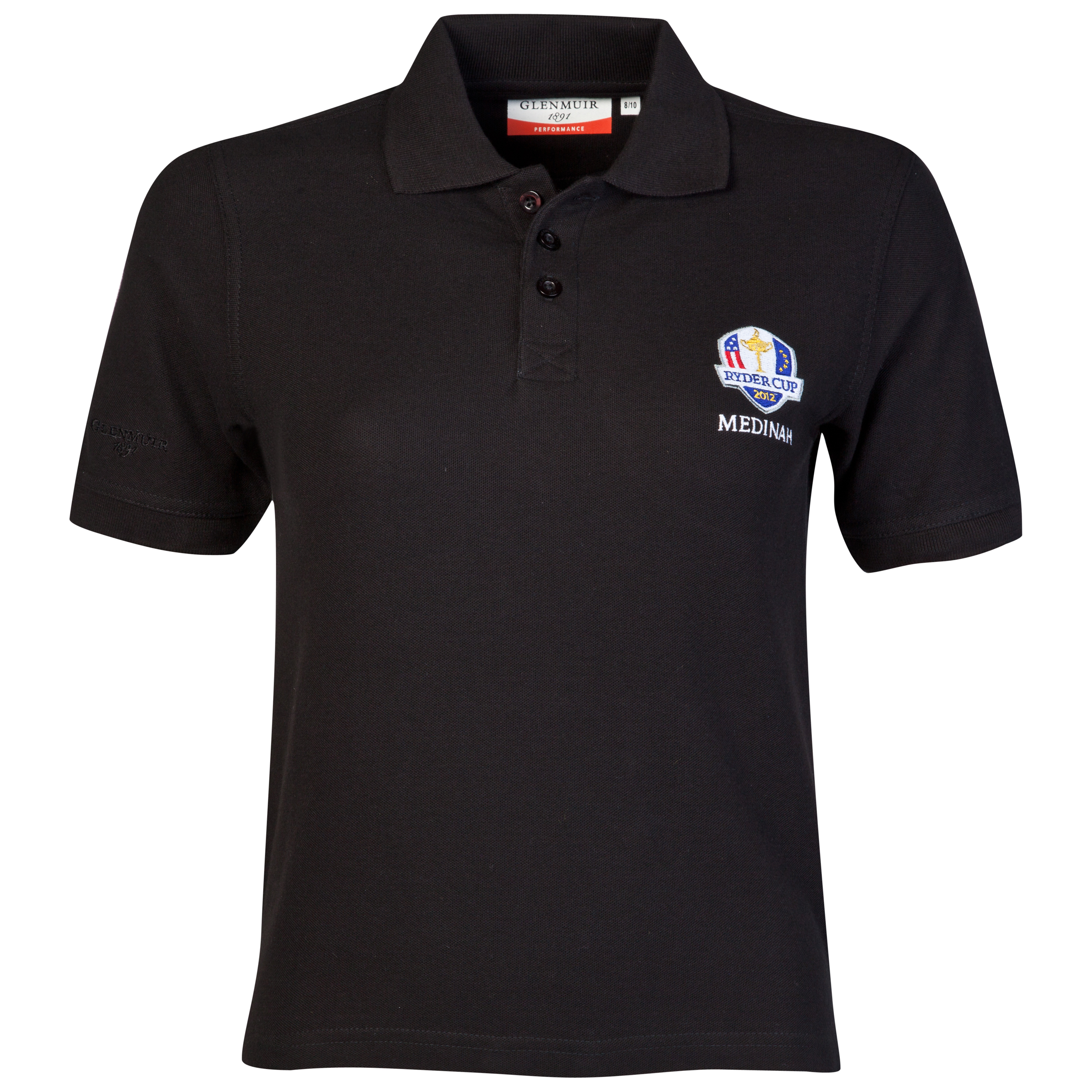 The Ryder Cup Medinah 2012 Glenmuir Rory Polo - Black - Boys