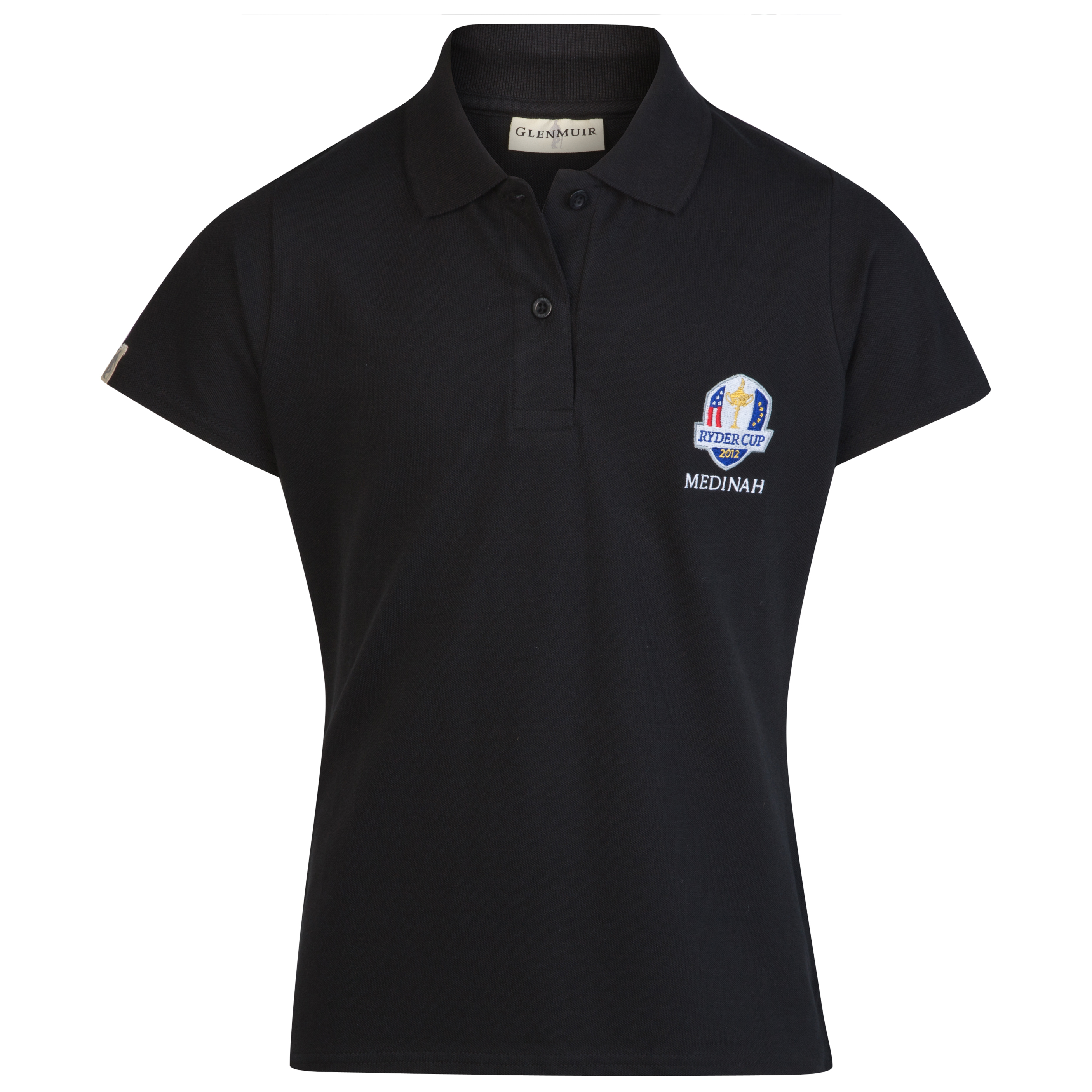 The Ryder Cup Medinah 2012 Glenmuir Zara Polo - Black - Girls