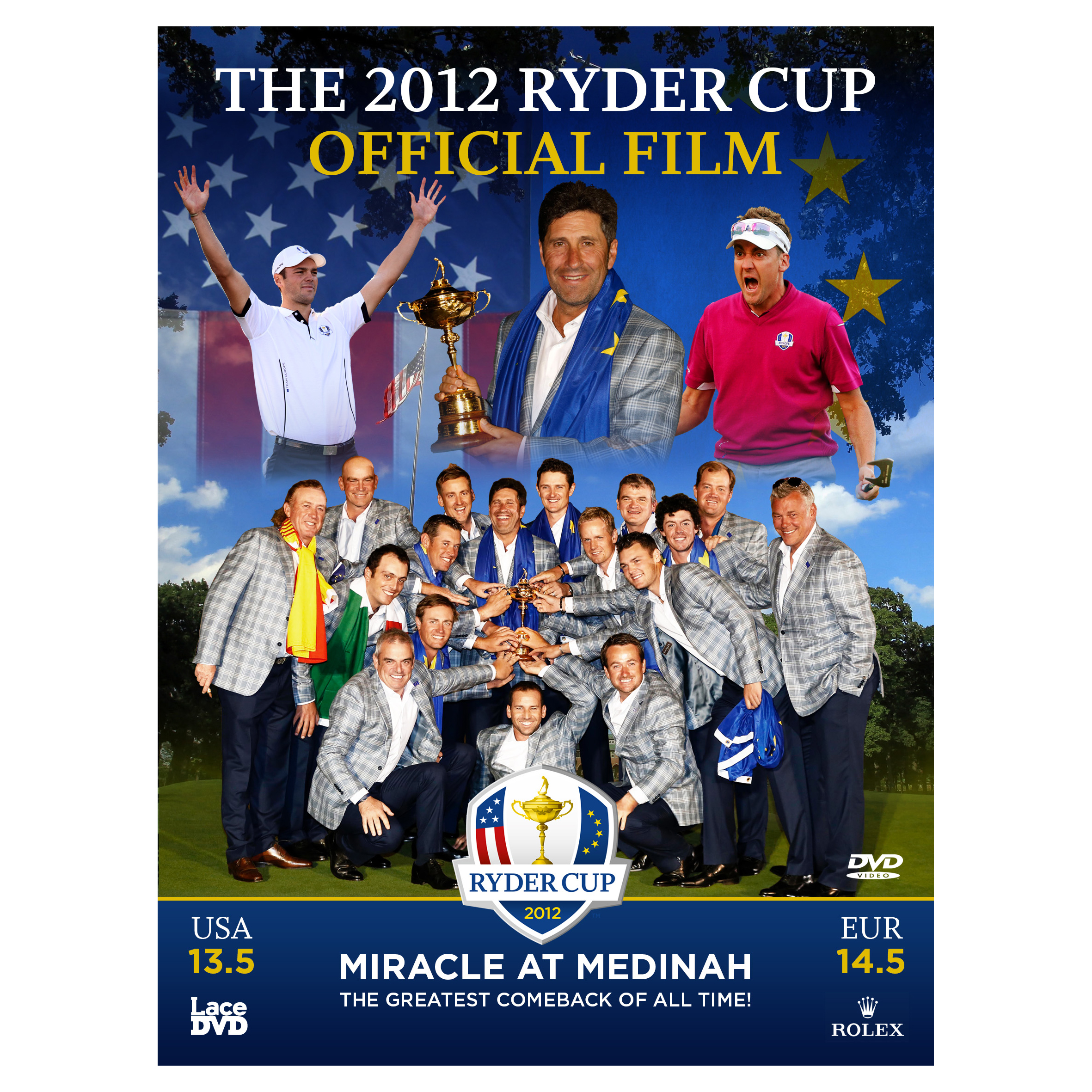 The Ryder Cup The 2012 Medinah Official Film (39th) DVD