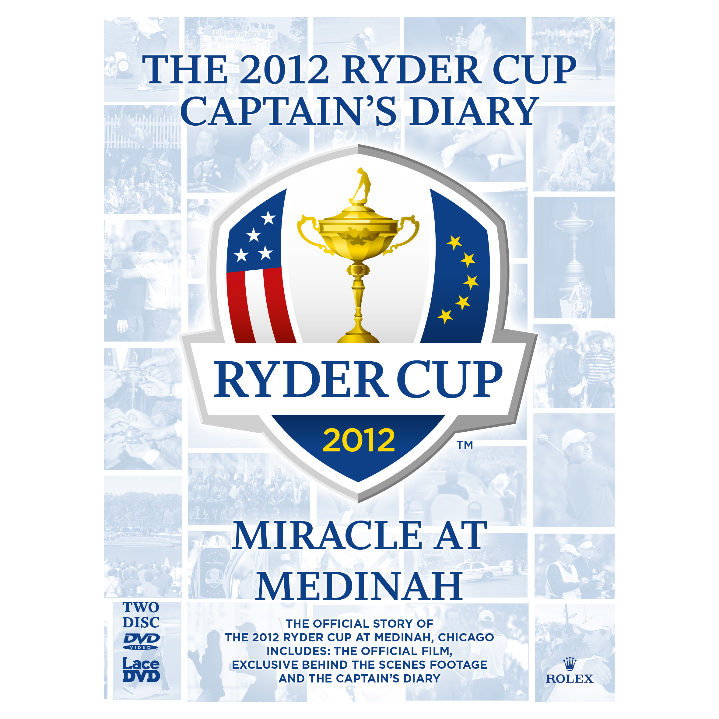 The Ryder Cup The 2012 Medinah Diary and Official Film (39th) DVD