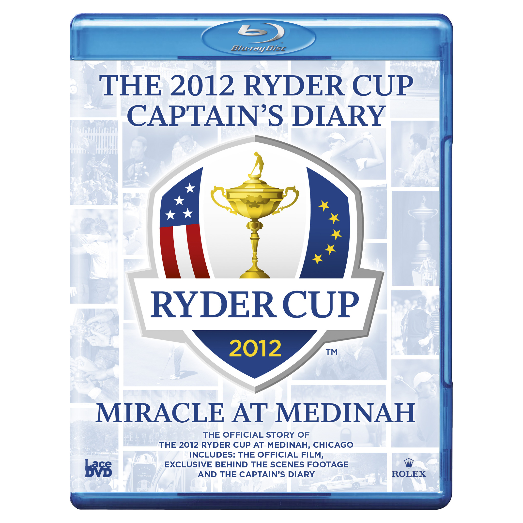 The 2012 Ryder Cup Medinah Diary and Official Film (39th) Blu-ray