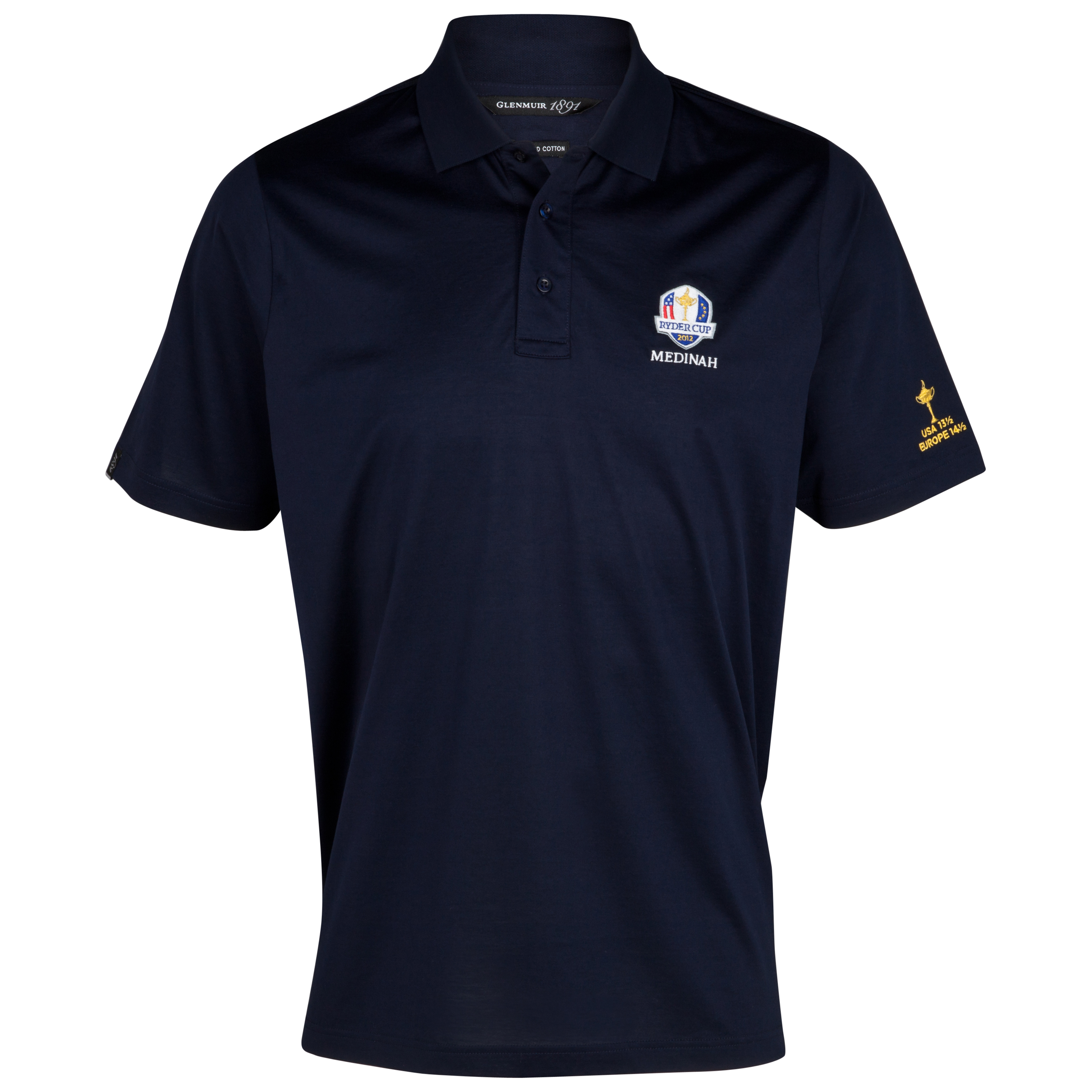 The 2014 Ryder Cup Glenmuir Howth Commemorative Winners Polo - Navy