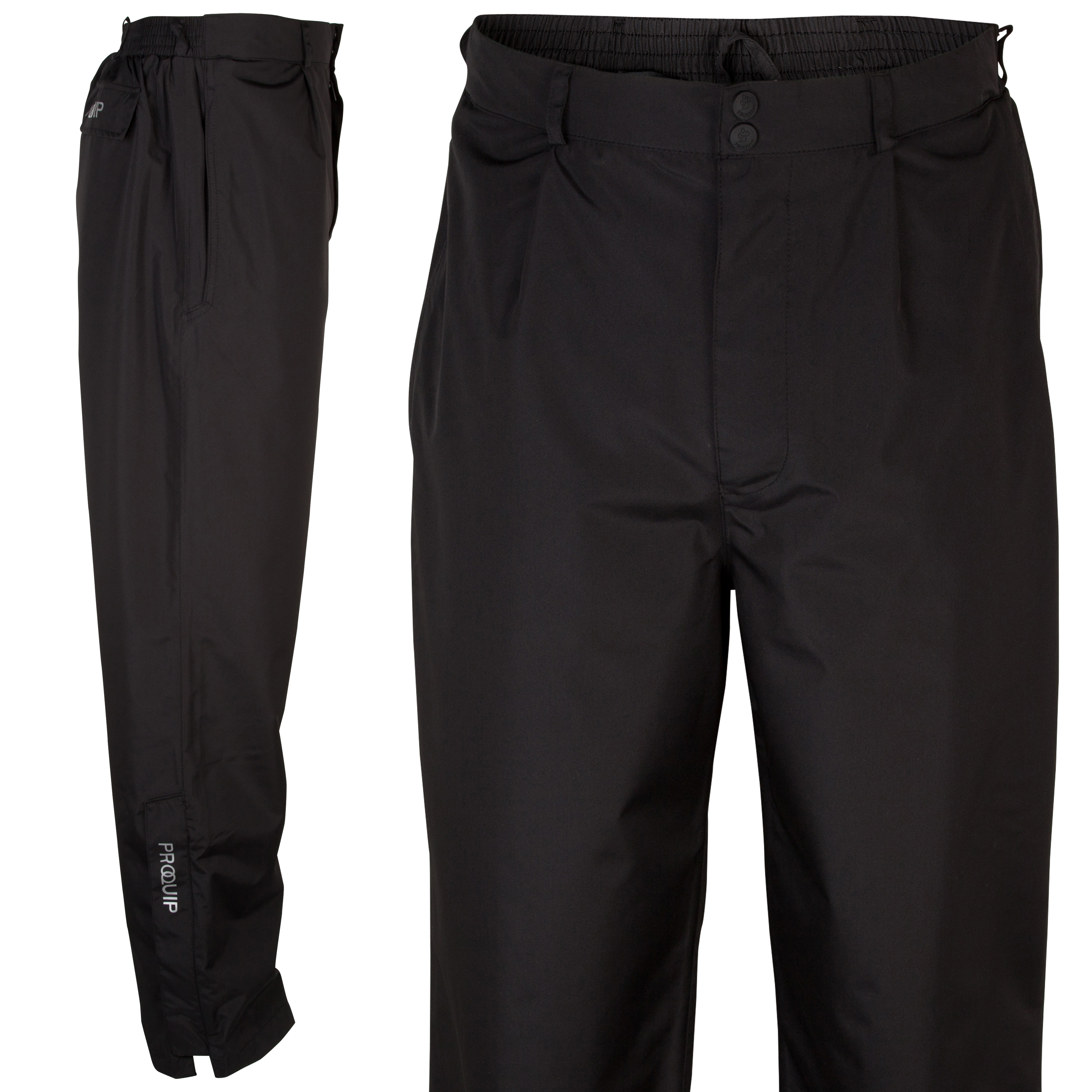 The Ryder Cup Gleneagles 2014 Pro-Quip Ultralite Europa Waterproof Trousers - Black