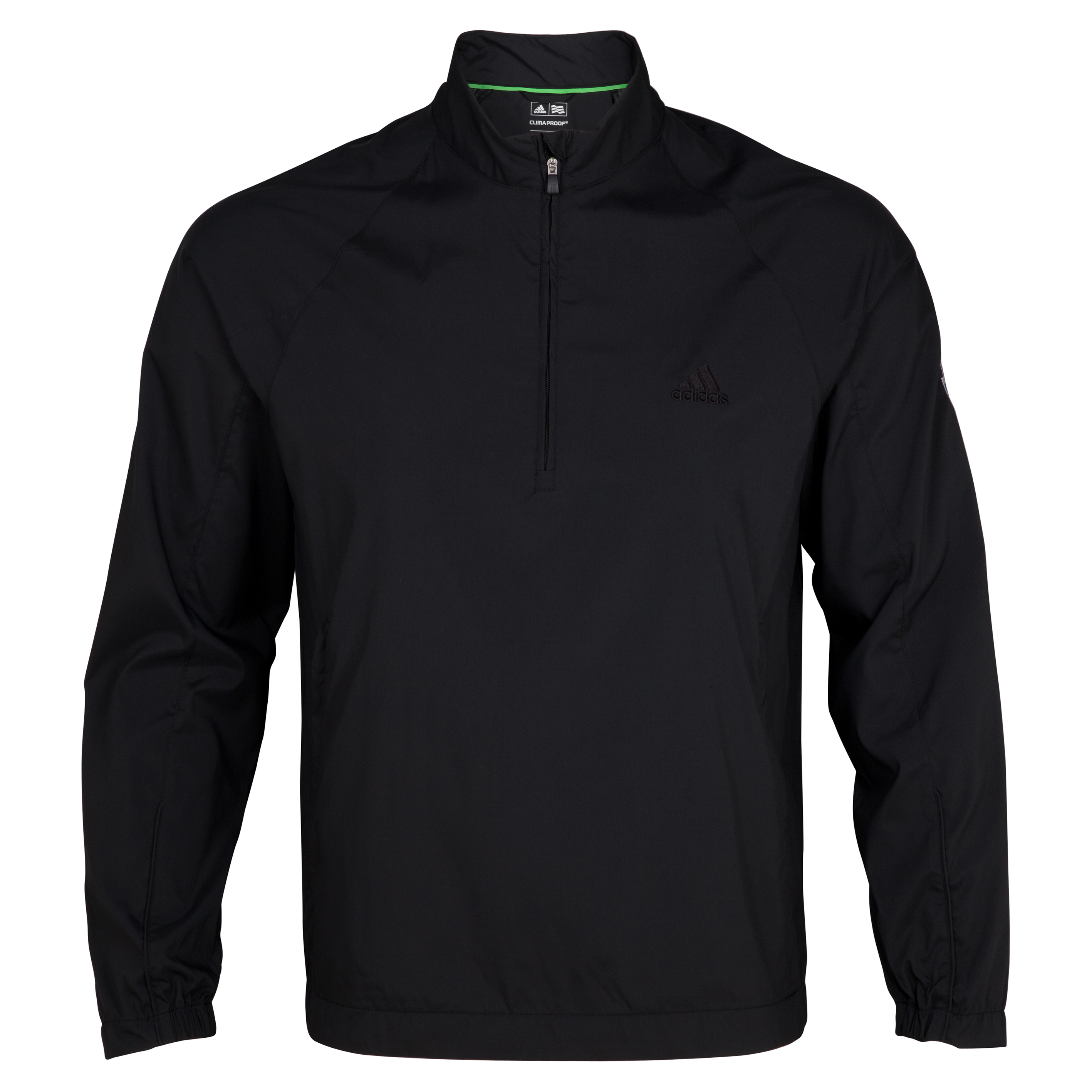 The 2014 Ryder Cup adidas ClimaProof Wind Long Sleeve Shirt - Black/Black