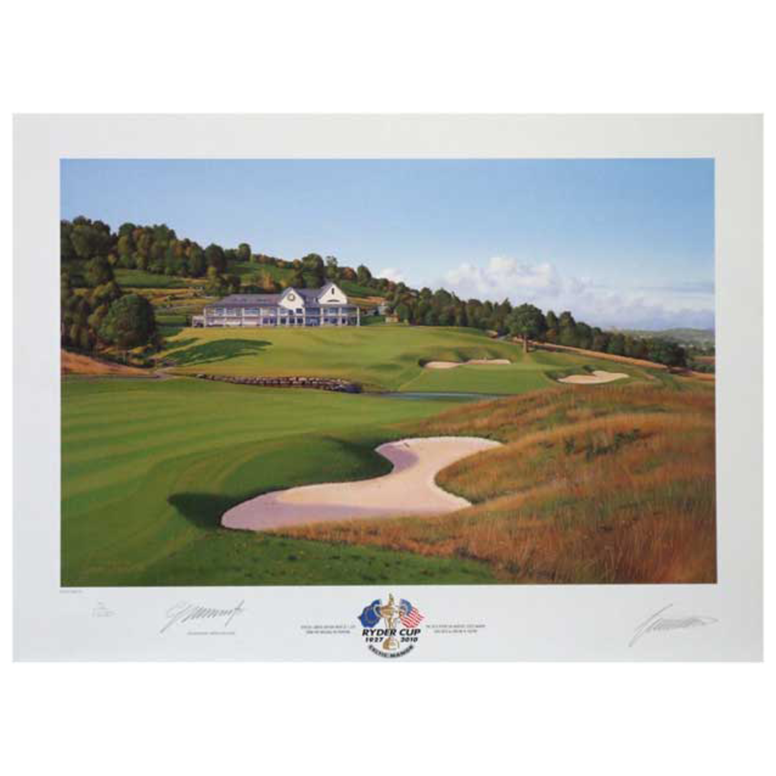 The Ryder Cup Celtic Manor 2010 18th Hole Limited Edition Print