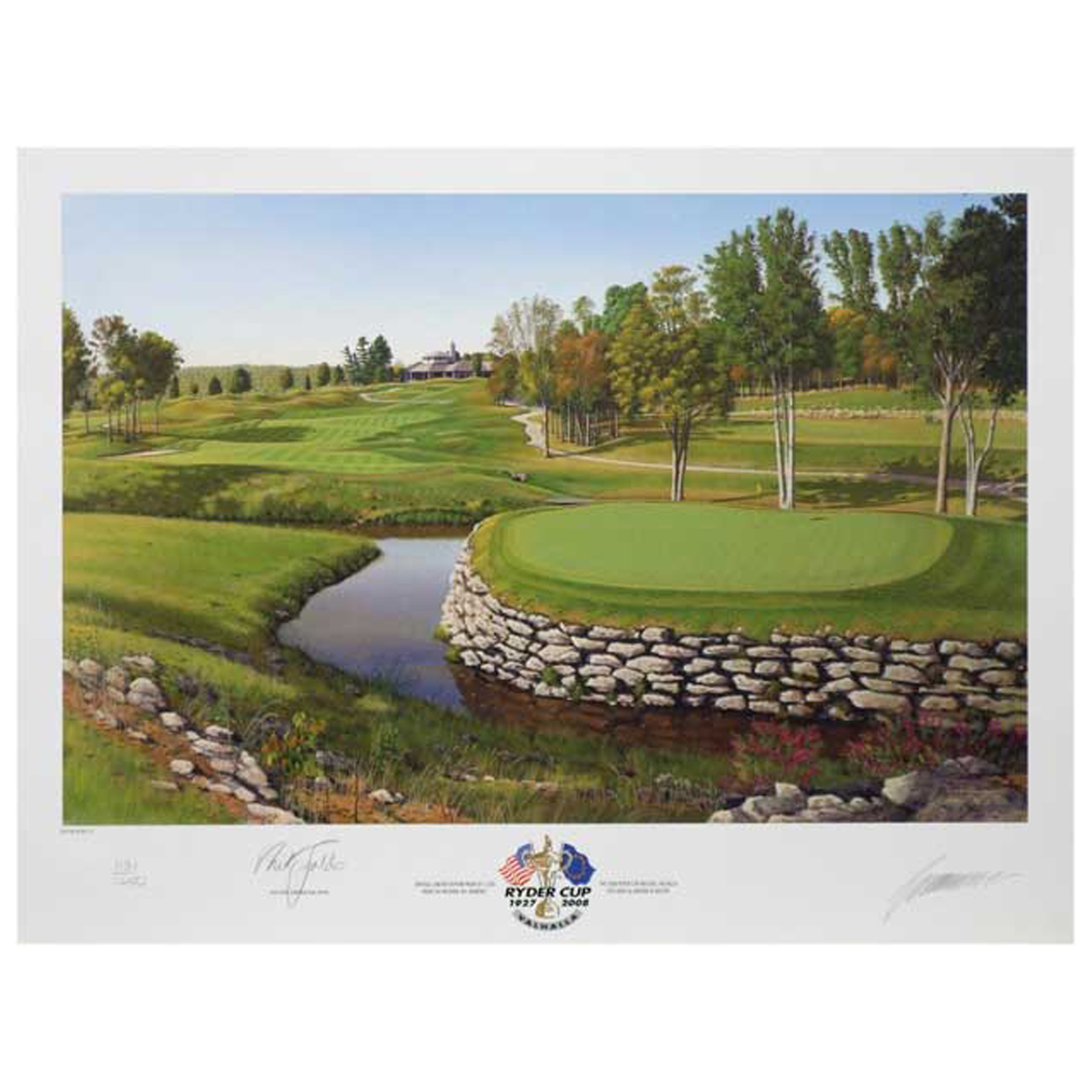 The Ryder Cup Valhalla 2008 13th Hole Limited Edition Print