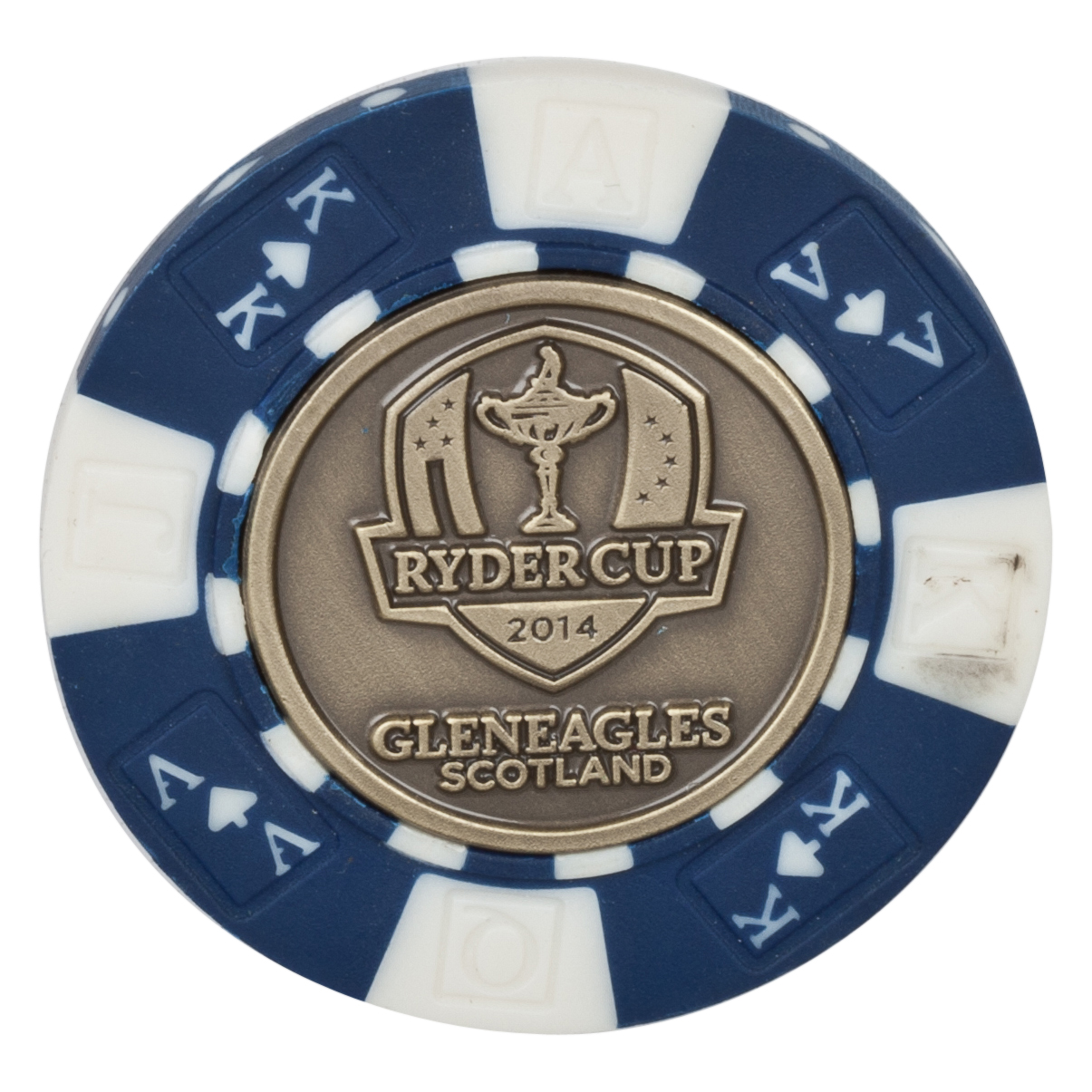 The Ryder Cup Gleneagles 2014 Poker Chip  - Full Colour