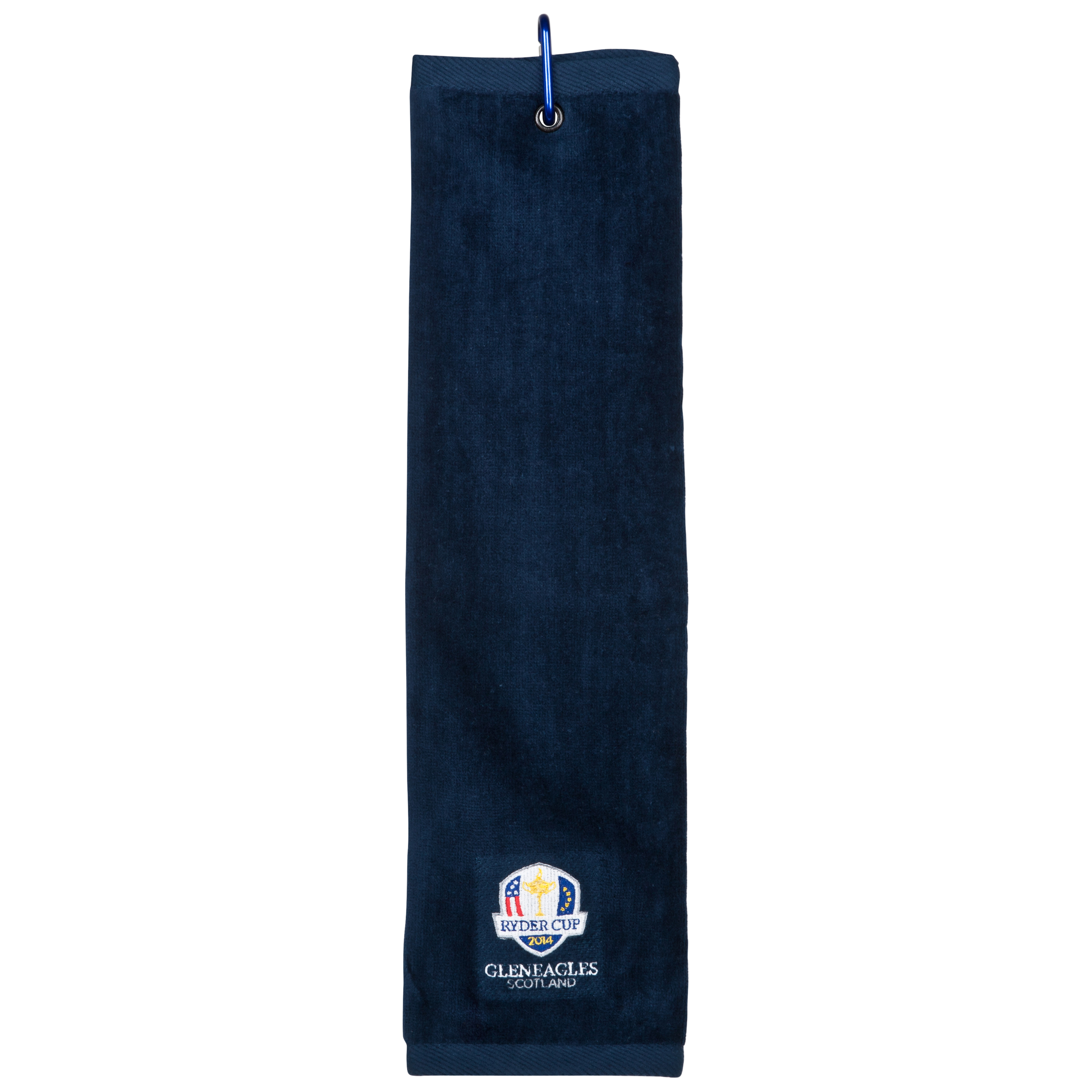 The Ryder Cup Gleneagles 2014 Tri Fold Towel - Navy