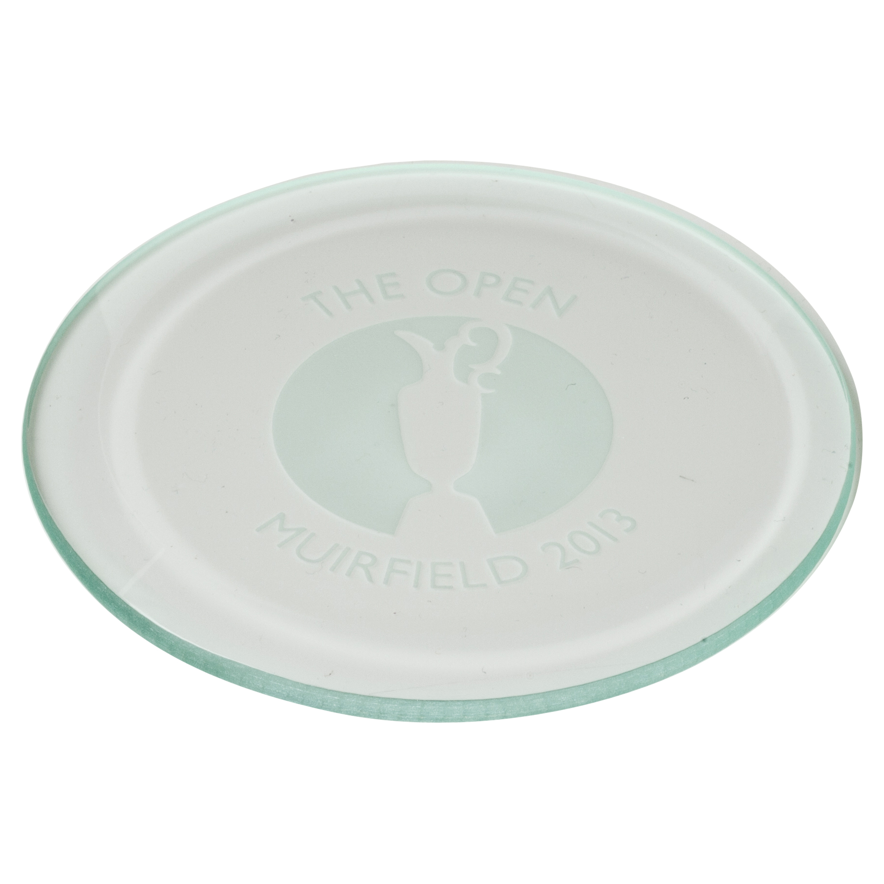 Open Golf Championship 2013 Muirfield Round Coaster