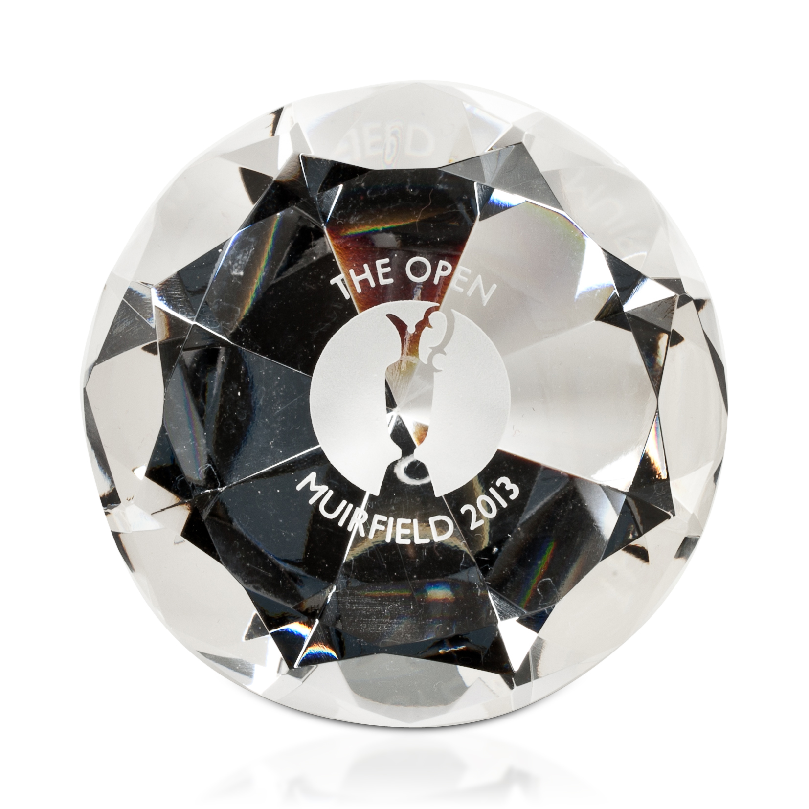 The Open Championship 2013 Muirfield Diamond Paperweight
