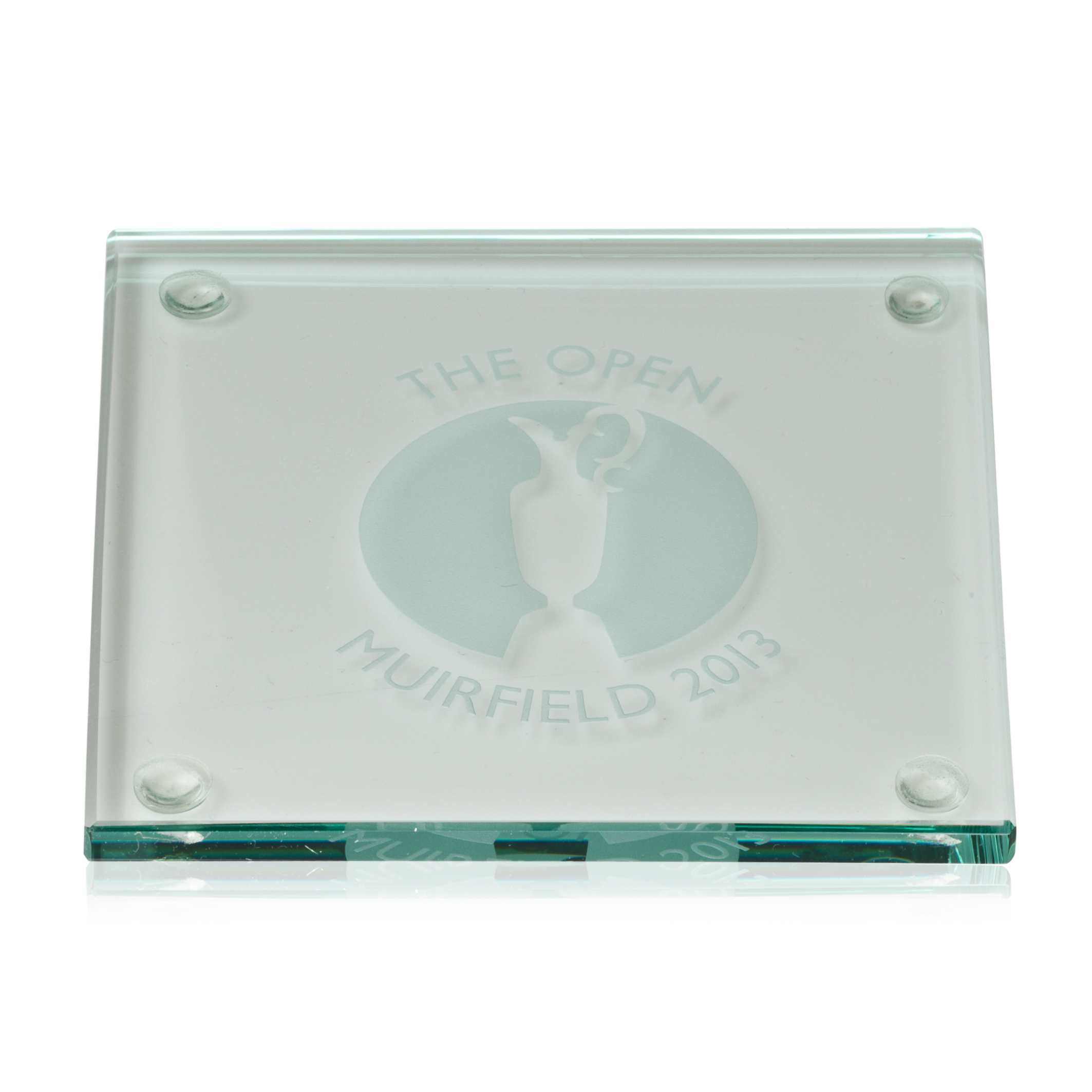 Open Golf Championship 2013 Muirfield Square Coaster