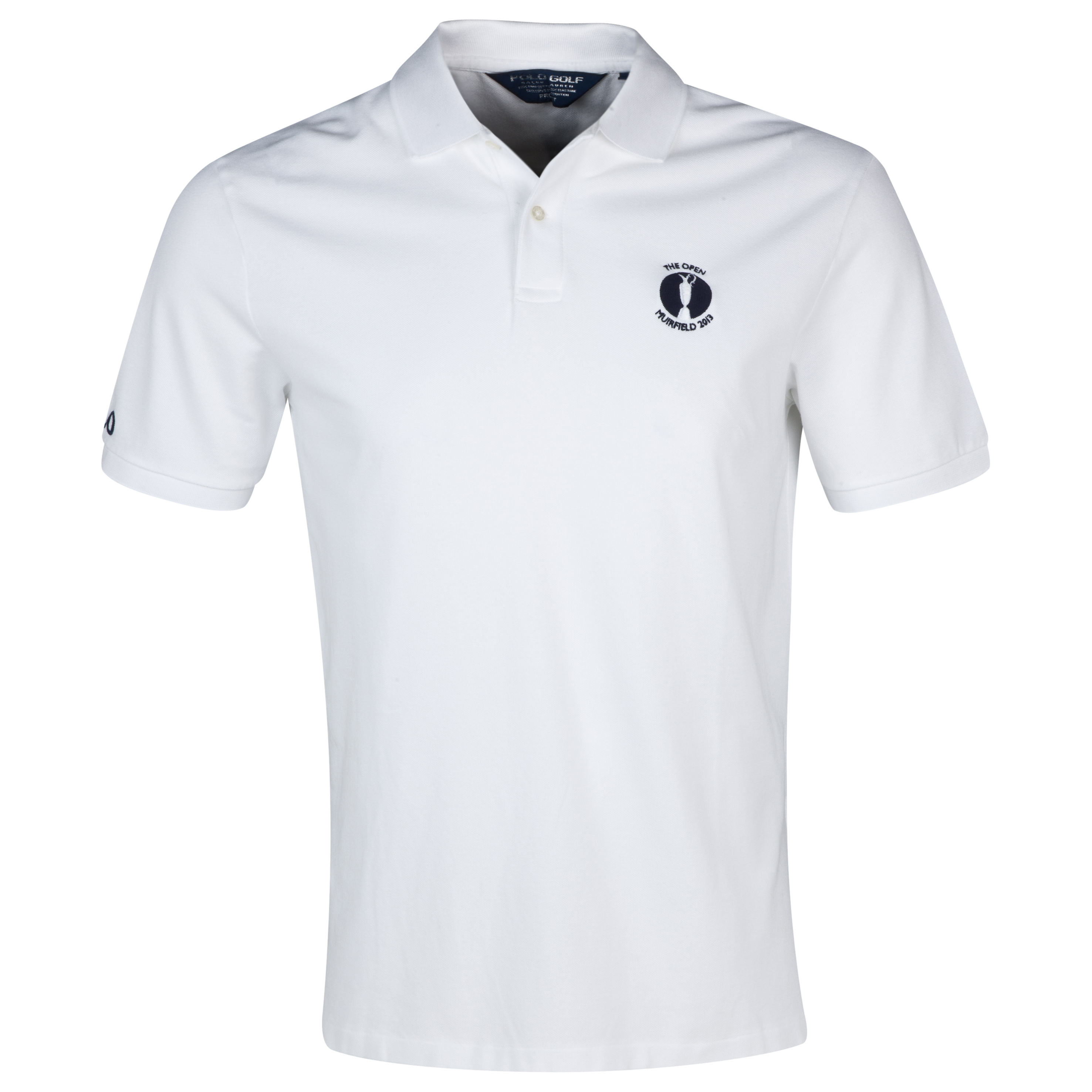 Open Golf Championship 2013 Muirfield Polo Ralph Lauren Solid Polo White