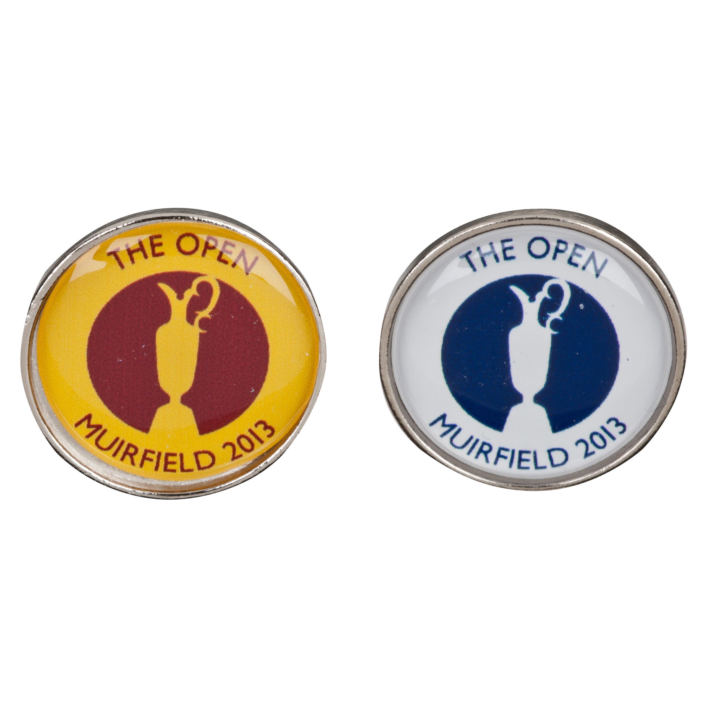 Open Golf Championship 2013 Muirfield Ball Markers White