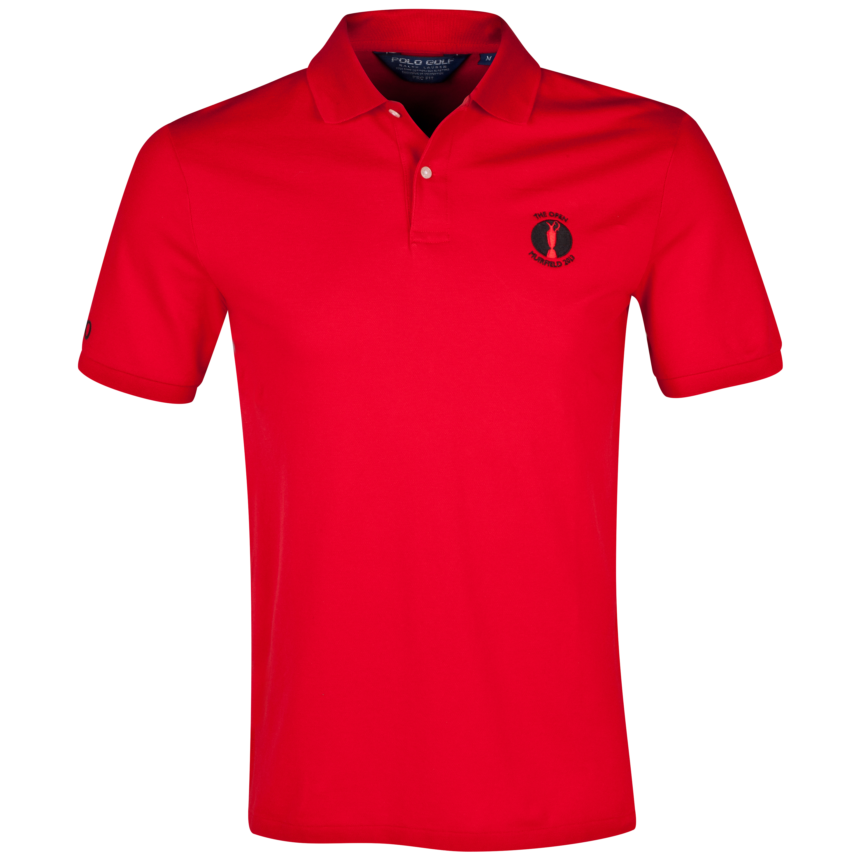 The Open Championship 2013 Muirfield Polo Ralph Lauren Solid Polo Red