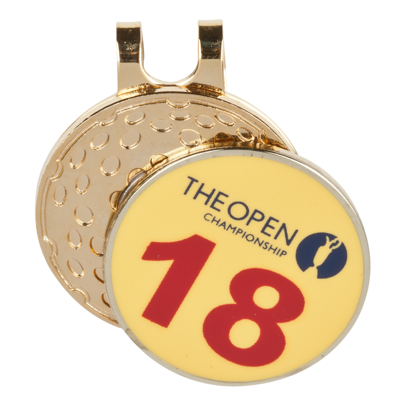 The Open Championship 2013 Muirfield Boxset 3 Pitchfork & Ball Marker Yellow