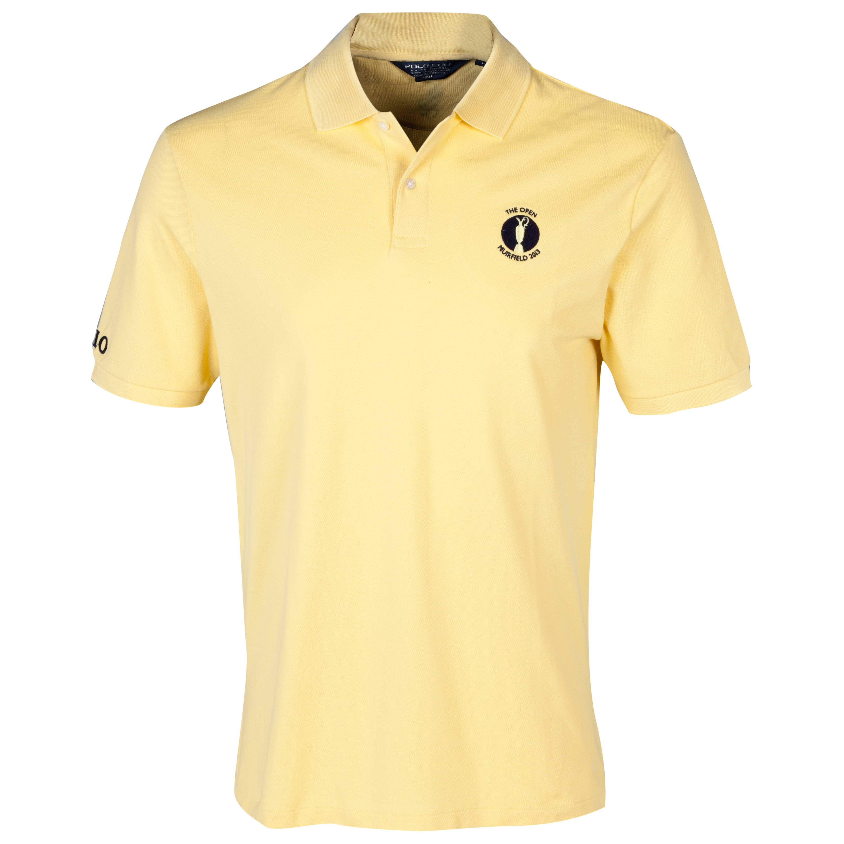 The Open Championship 2013 Muirfield Polo Ralph Lauren Solid Polo Yellow
