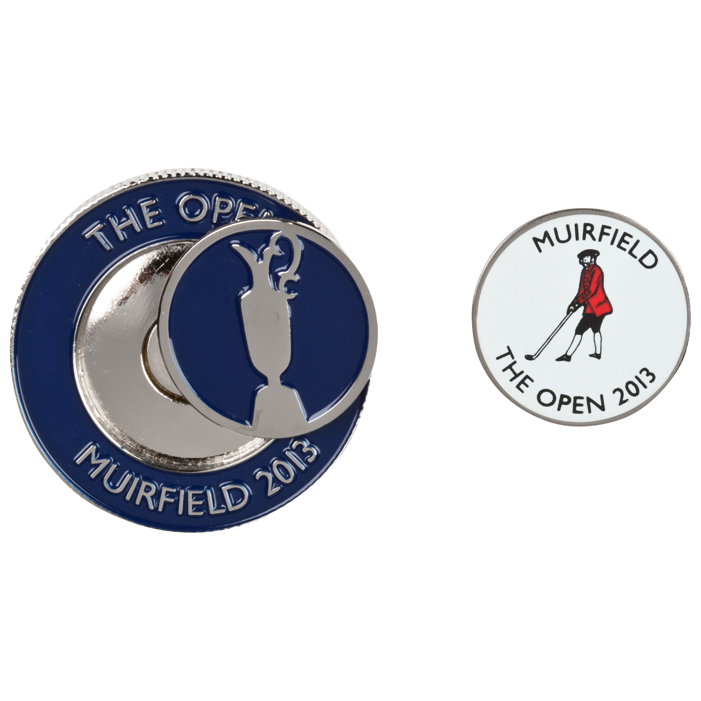 The Open Championship 2013 Muirfield Magnetic Ball Marker Coin