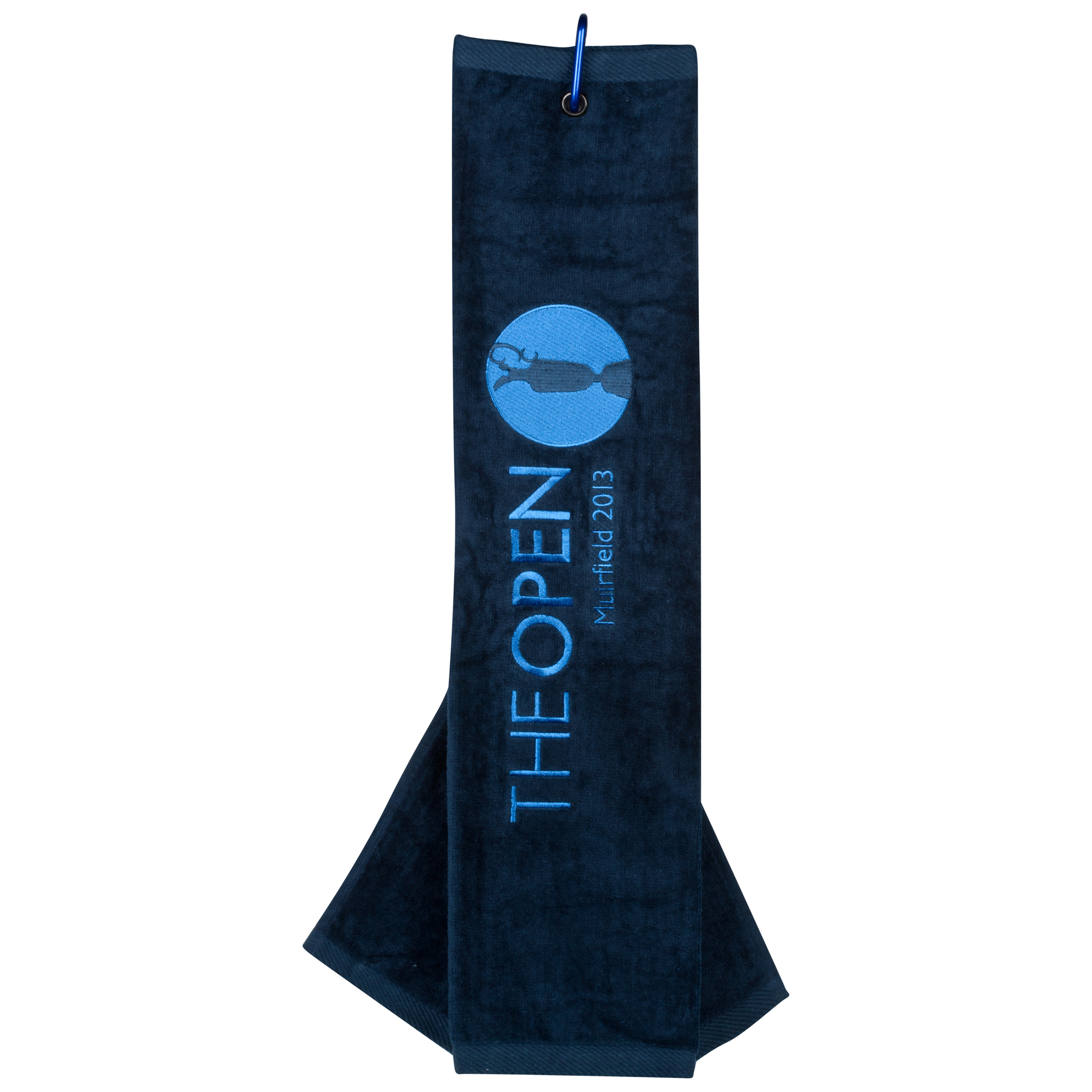 The Open Championship 2013 Muirfield Tri Fold Towel Navy