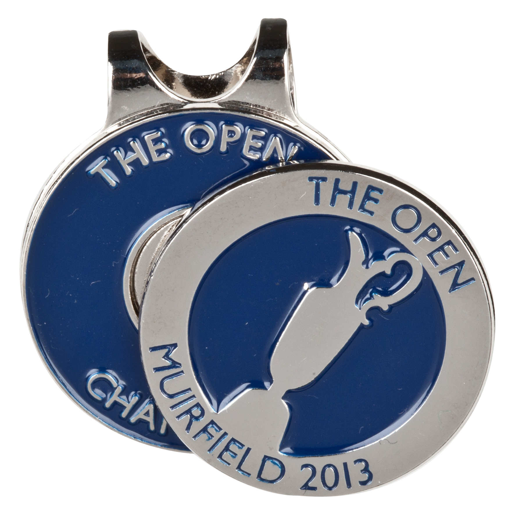 The Open Championship 2013 Muirfield Cap Clip Silver