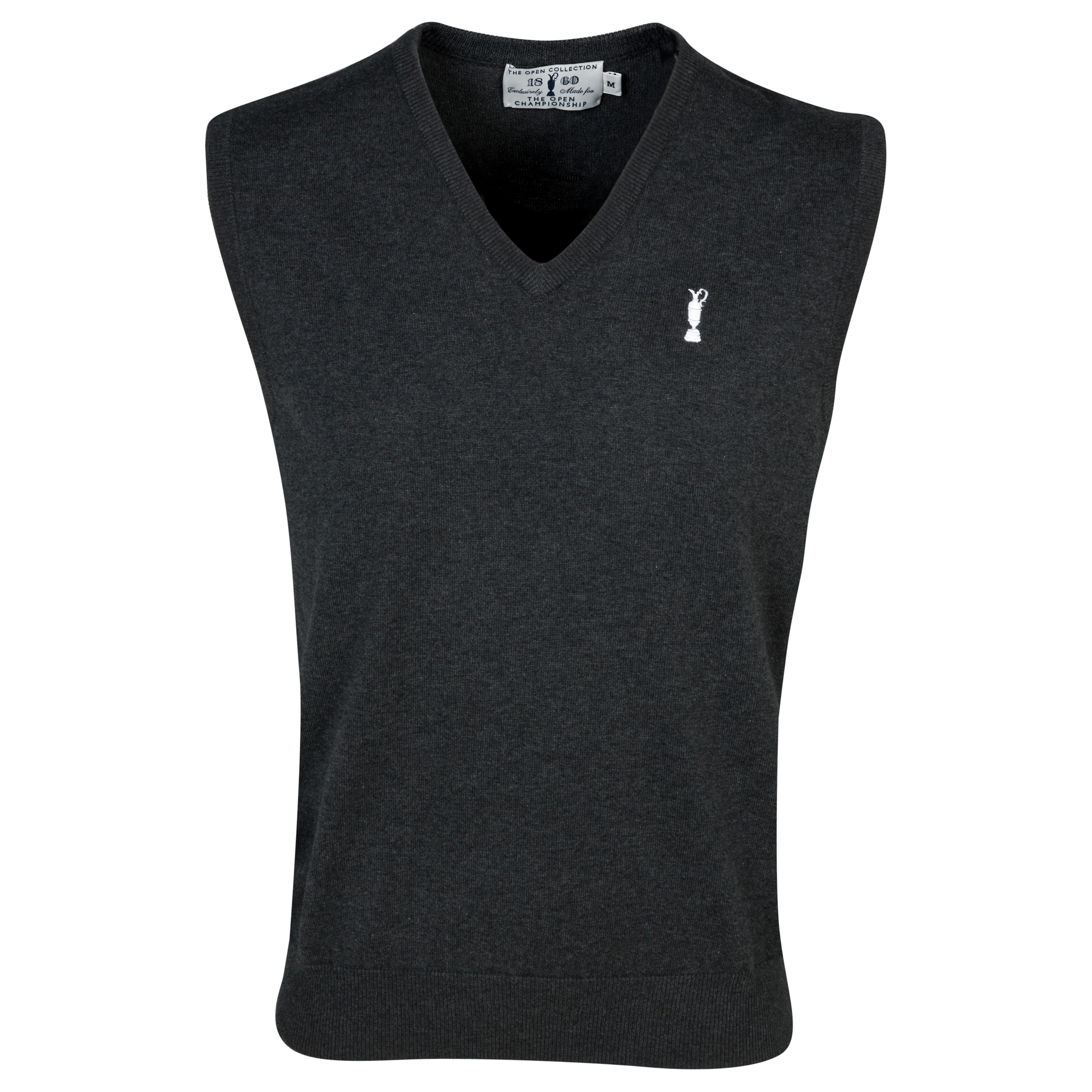 The Open Championship Collection - V-Neck Vest Grey