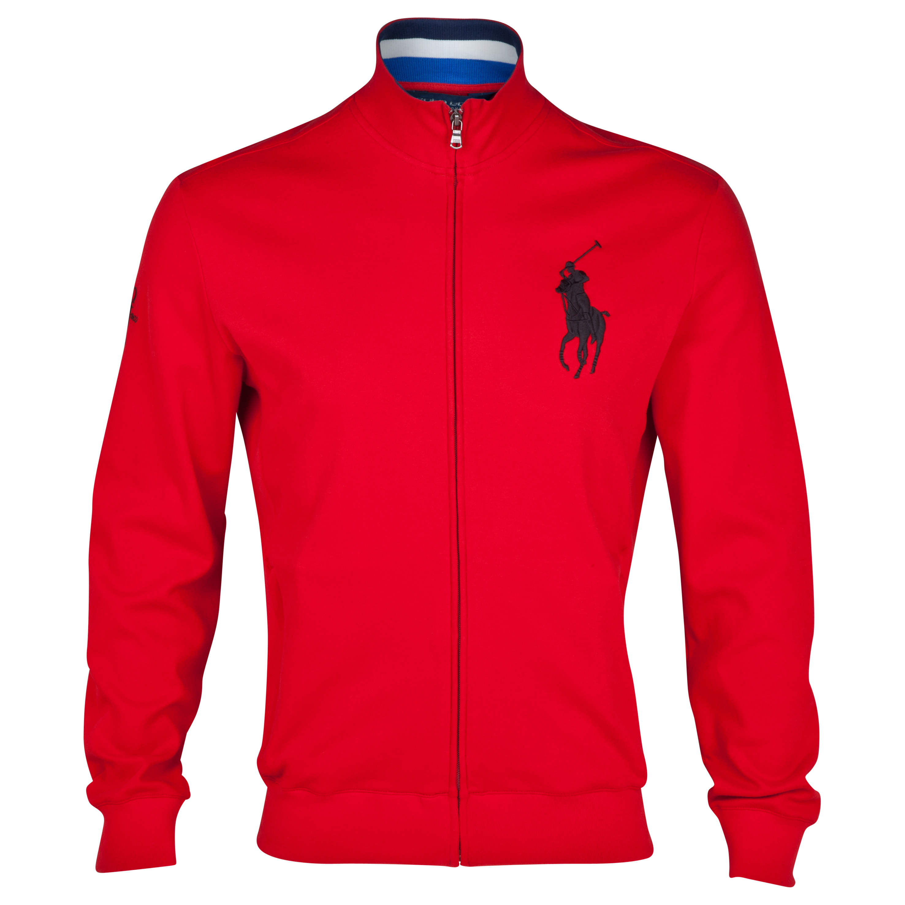 The Open Championship 2013 Muirfield Polo Ralph Lauren Mock Neck Fleece Red