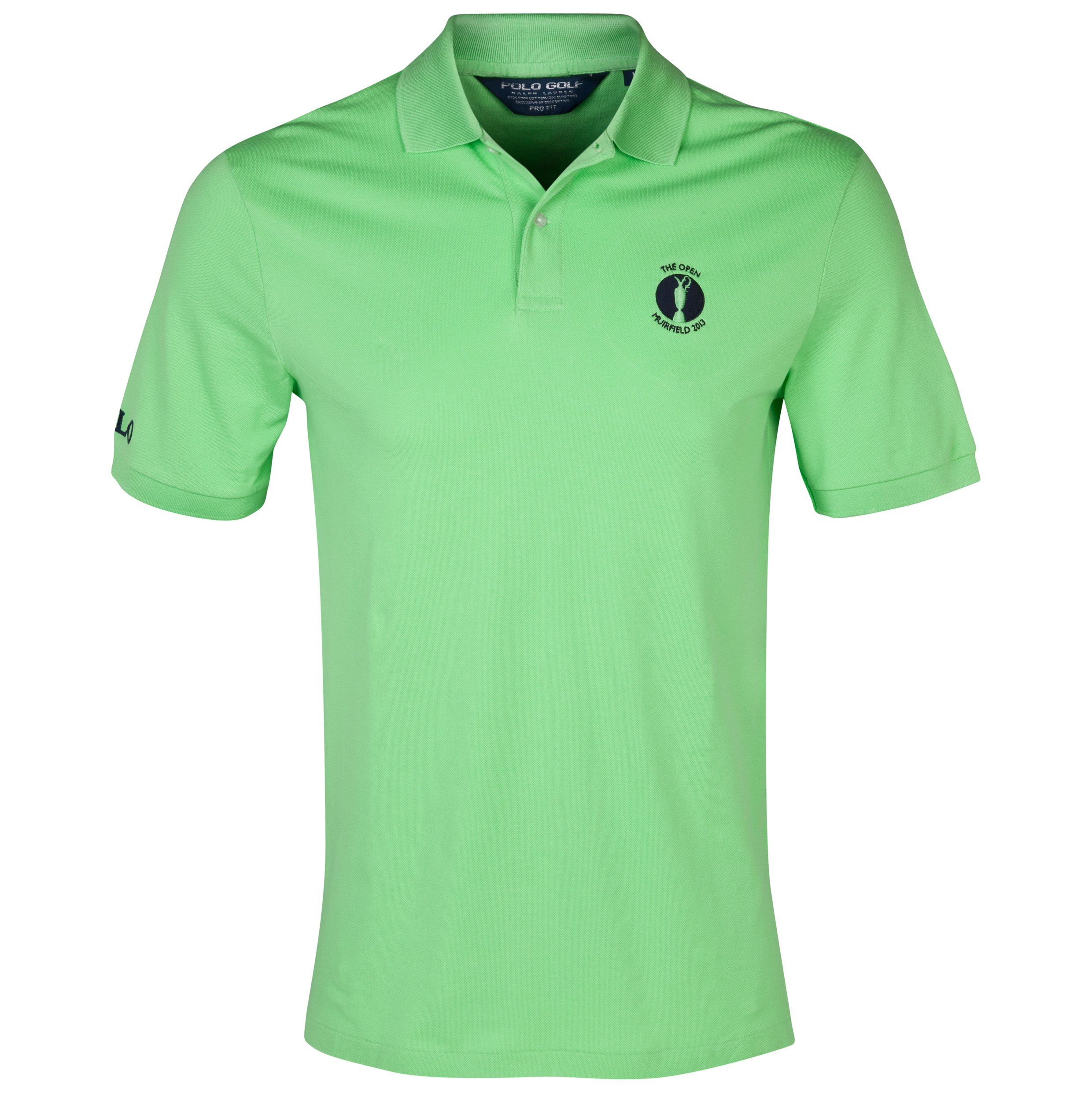 The Open Championship 2013 Muirfield Polo Ralph Lauren Solid Polo Green