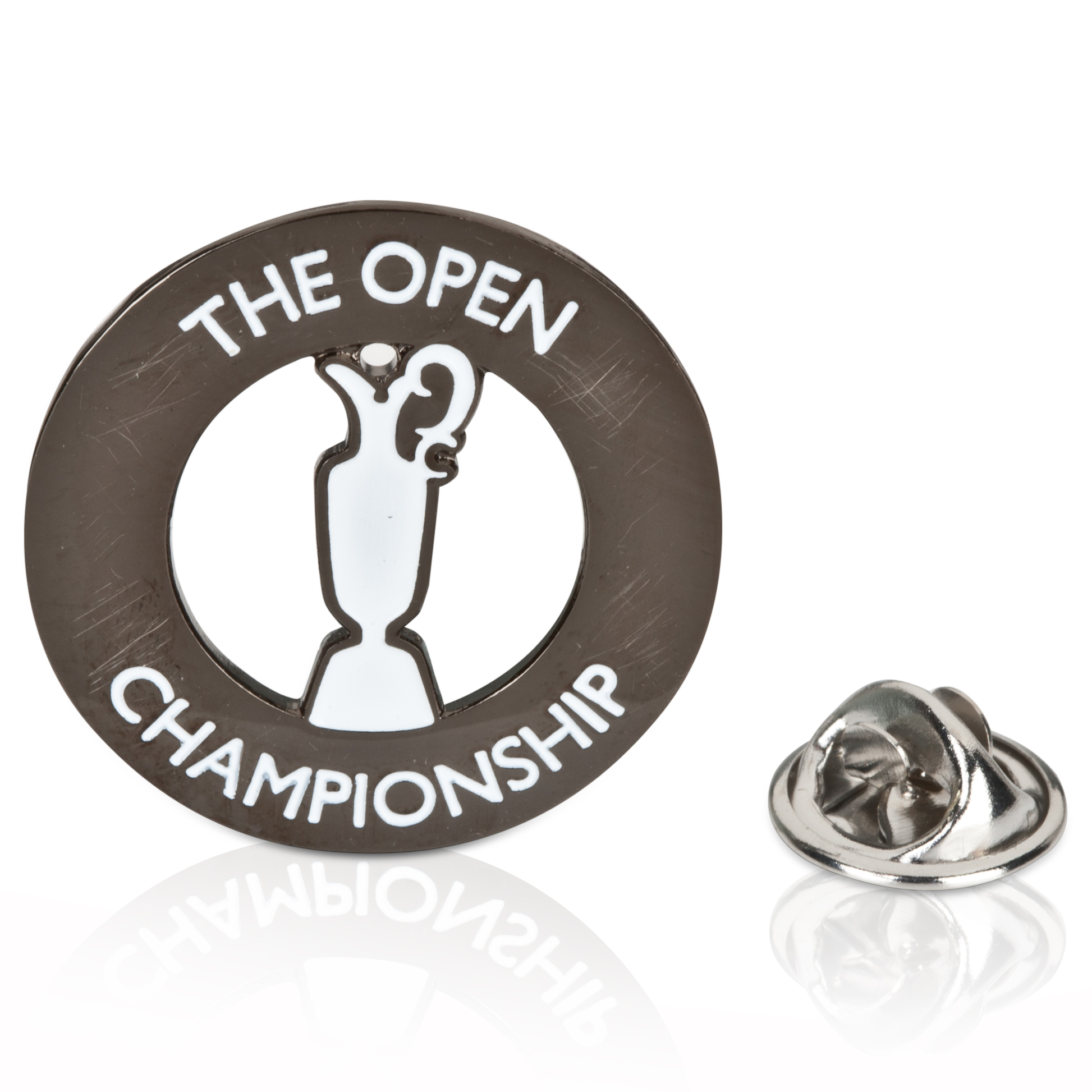 The Open Championship Collection Lapel Pin Badge Blue