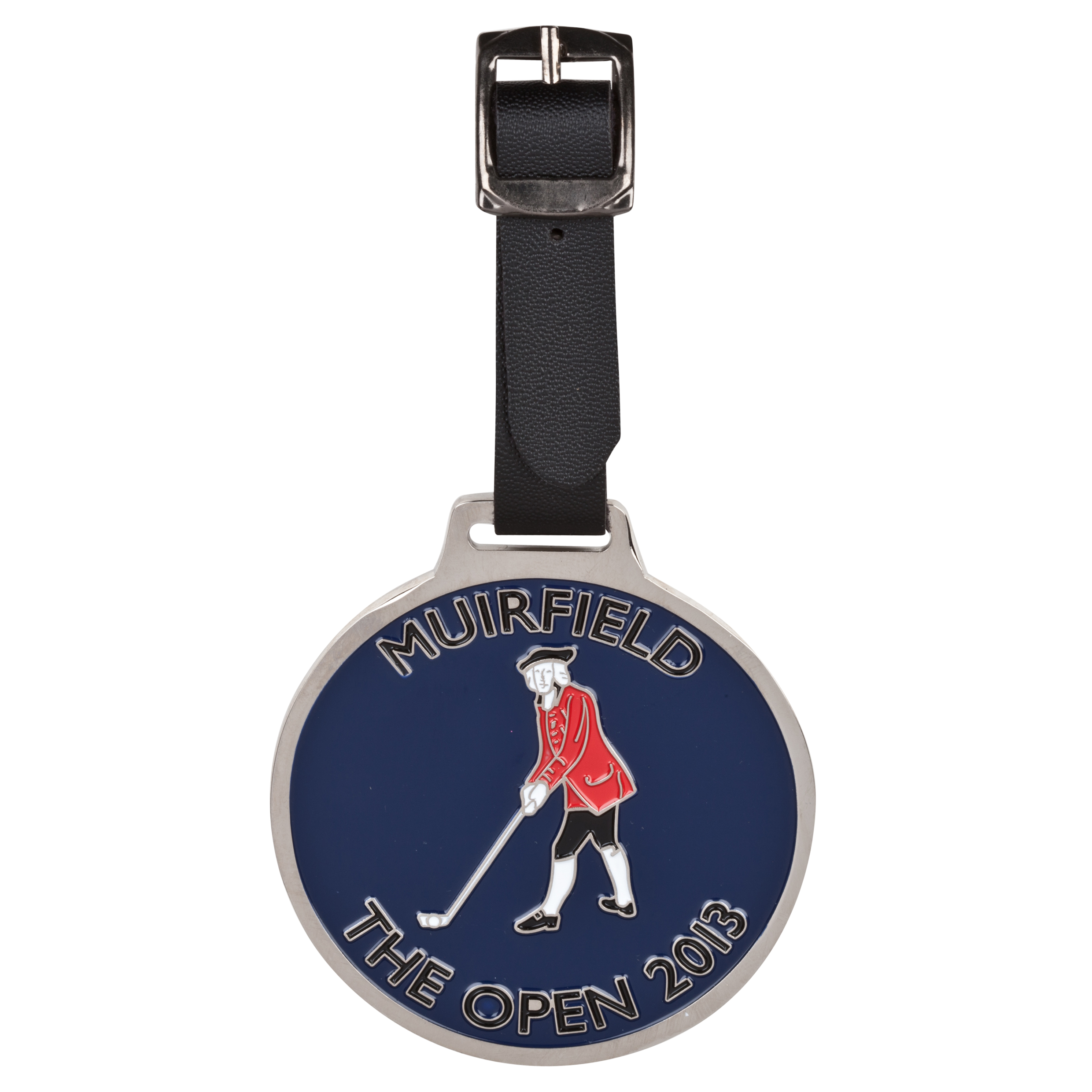 The Open Championship 2013 Muirfield Import Bag Tag Blue