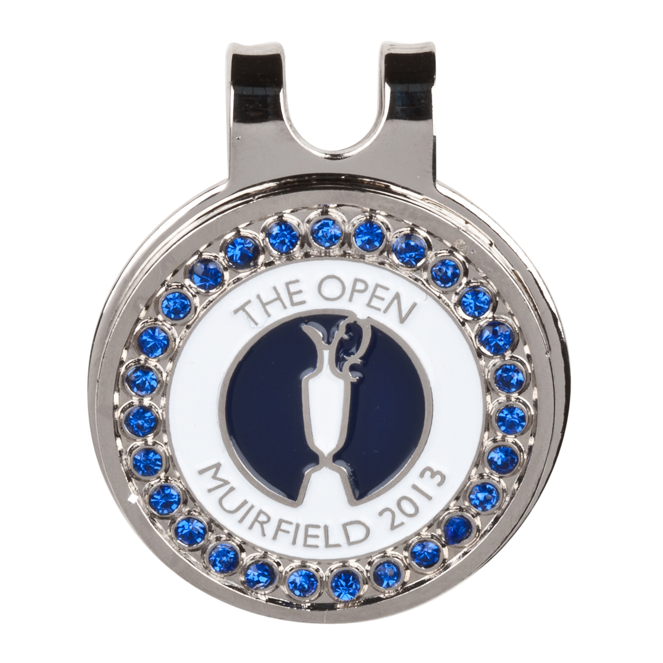 The Open Championship 2013 Muirfield Bling Cap Clip Blue