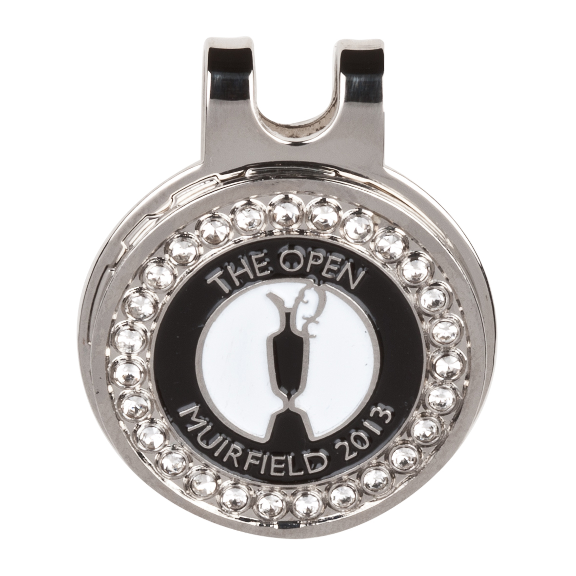 The Open Championship 2013 Muirfield Bling Cap Clip Black