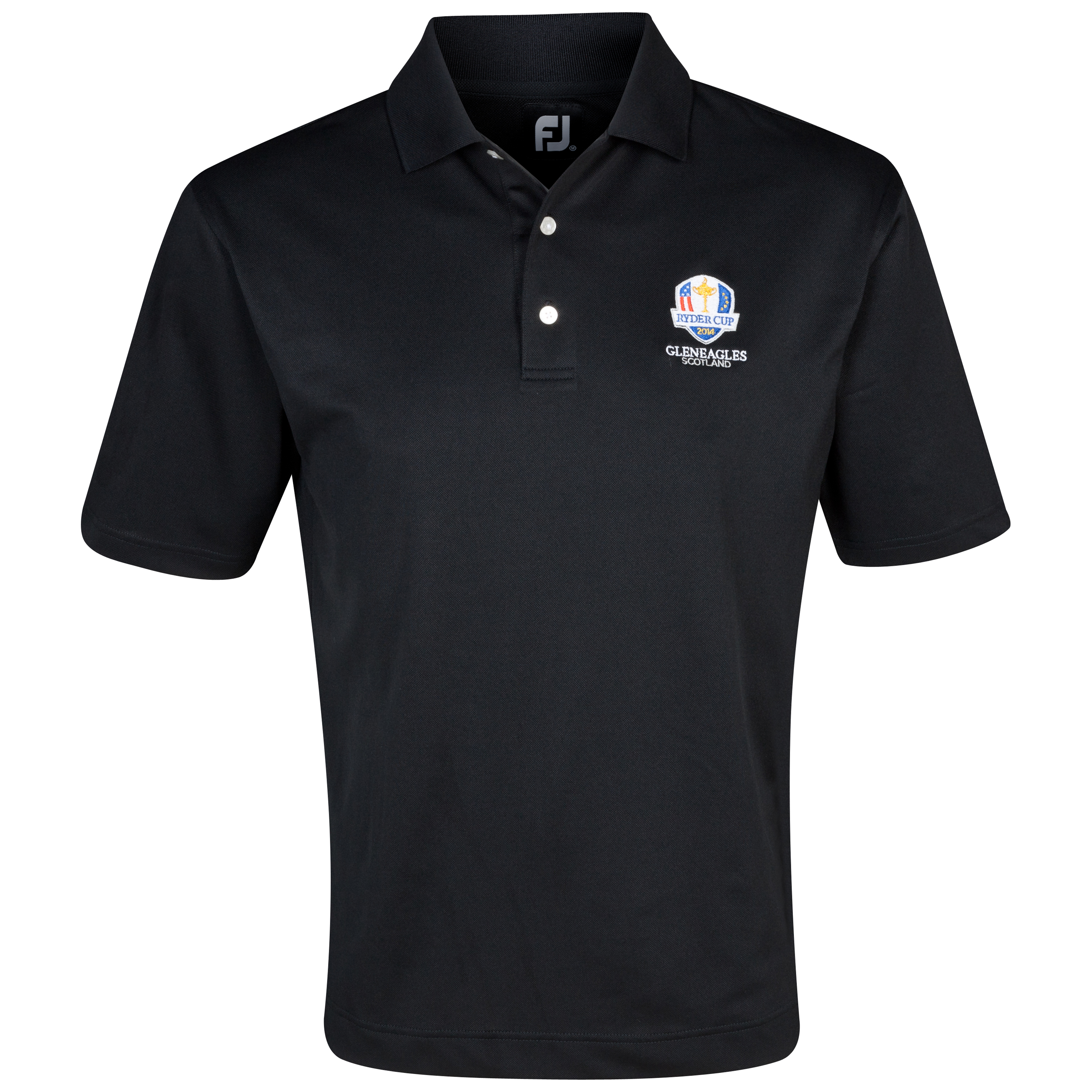 The 2014 Ryder Cup Footjoy Stretch Pique Polo Black