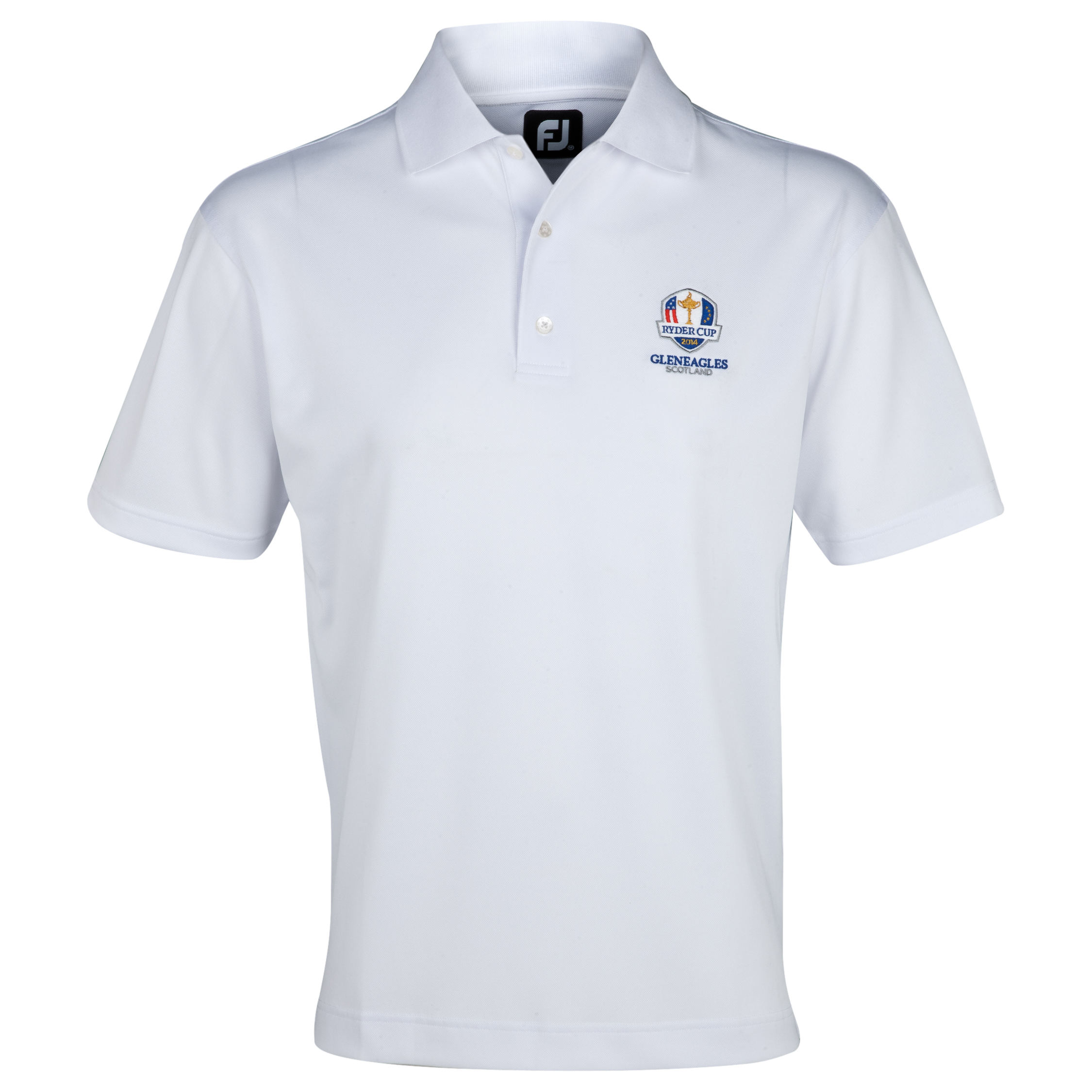 The 2014 Ryder Cup Footjoy Stretch Pique Polo White