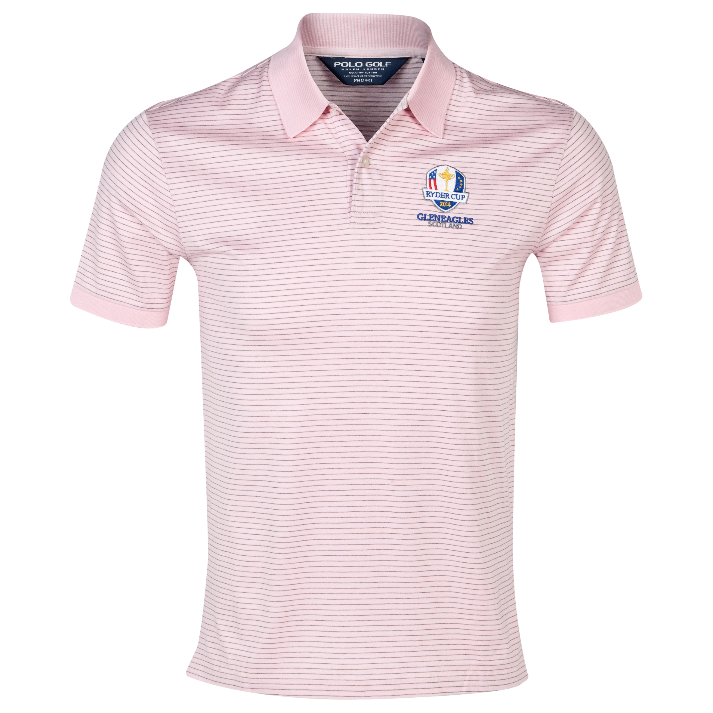 The 2014 Ryder Cup Ralph Lauren Stripe Polo Pink