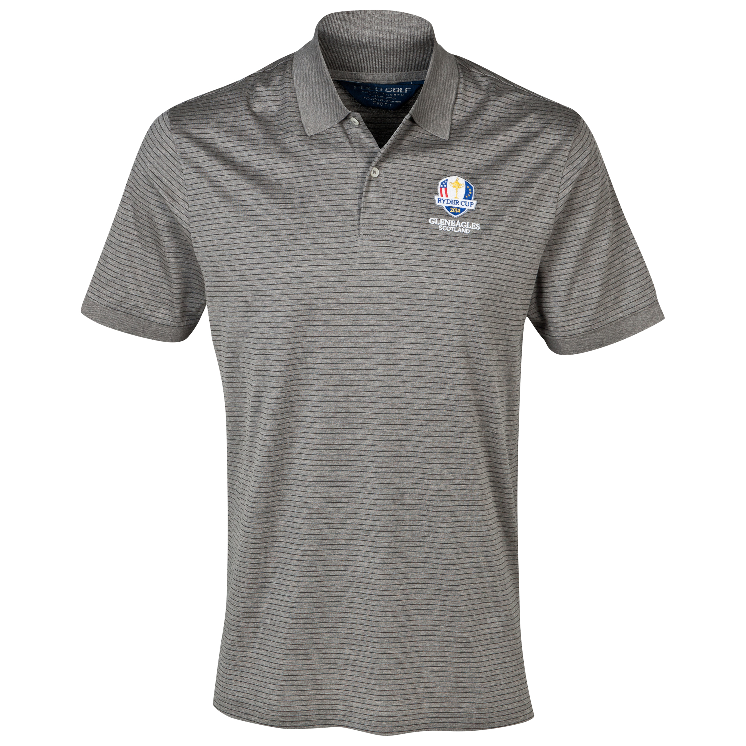 The 2014 Ryder Cup Ralph Lauren Stripe Polo Grey