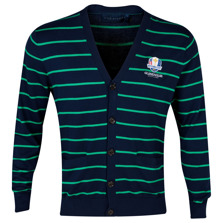 The 2014 Ryder Cup Ralph Lauren Long Sleeve Cardigan Navy