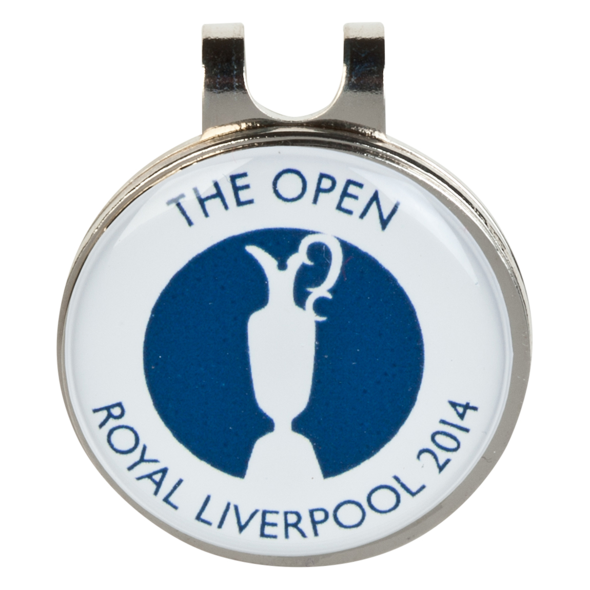 The Open Championship Royal Liverpool 2014 CapClip and 2 Ballmarkers