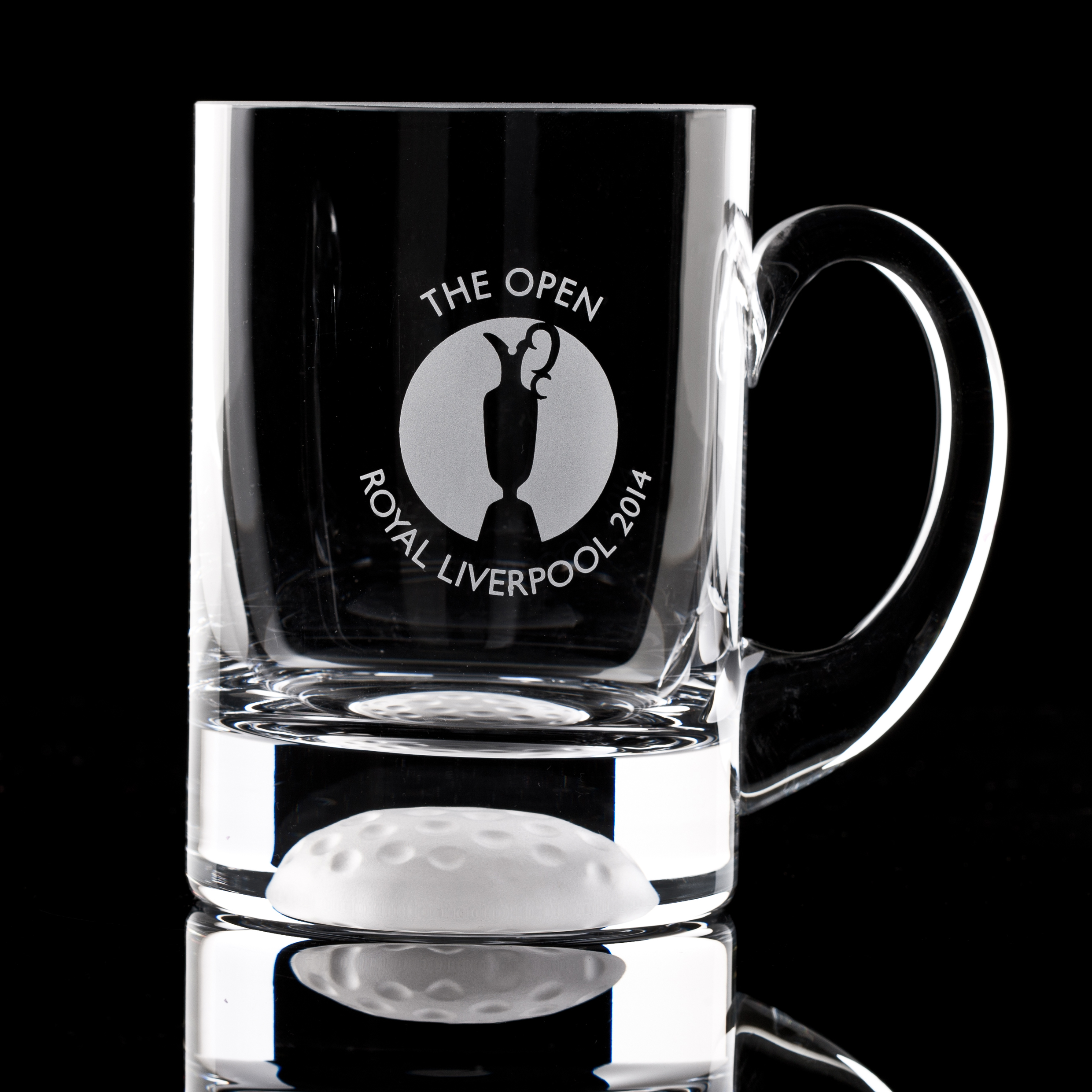 The Open Championship Royal Liverpool 2014 Large Golf Ball Tankard