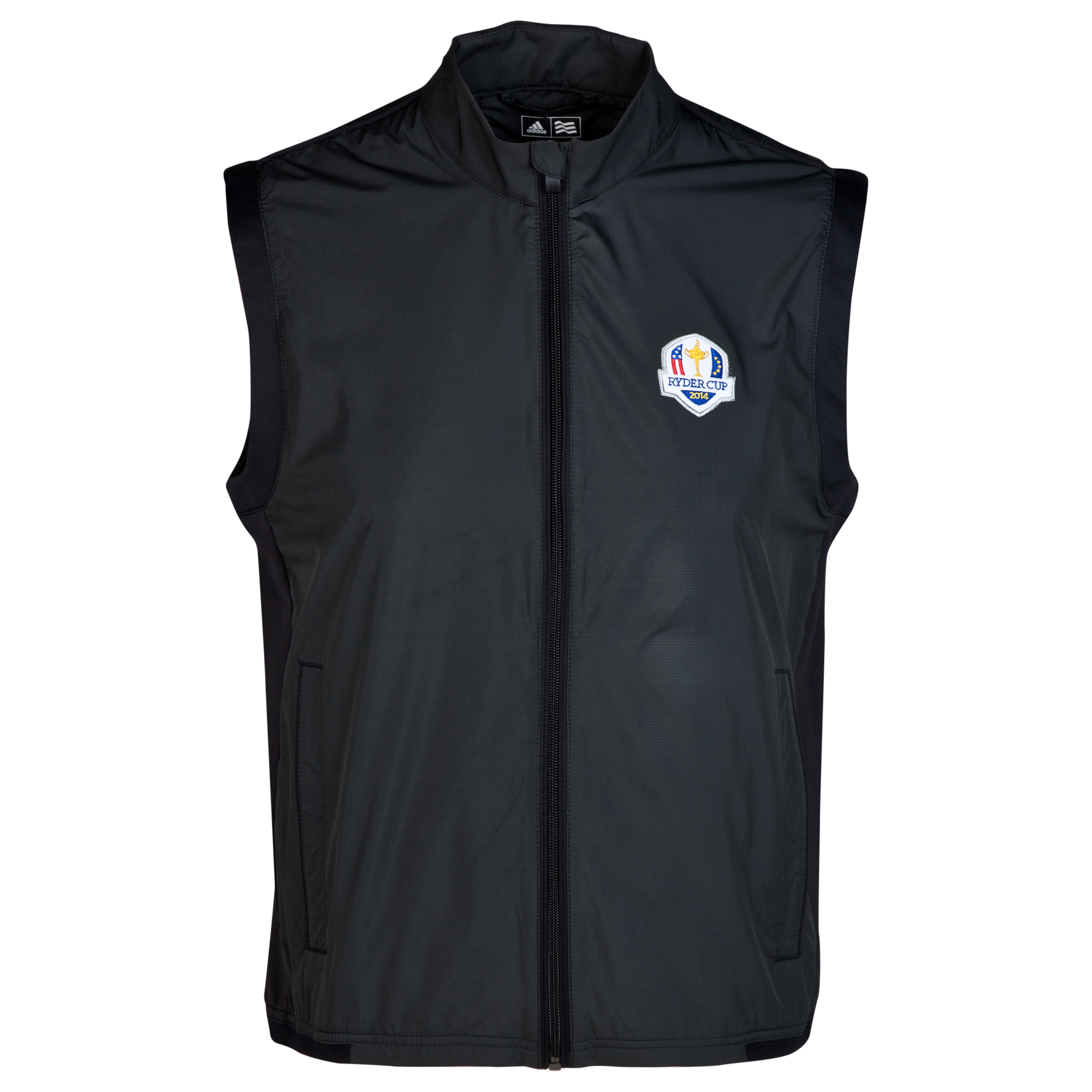 The 2014 Ryder Cup adidas ClimaProof Stretch Wind Vest Black