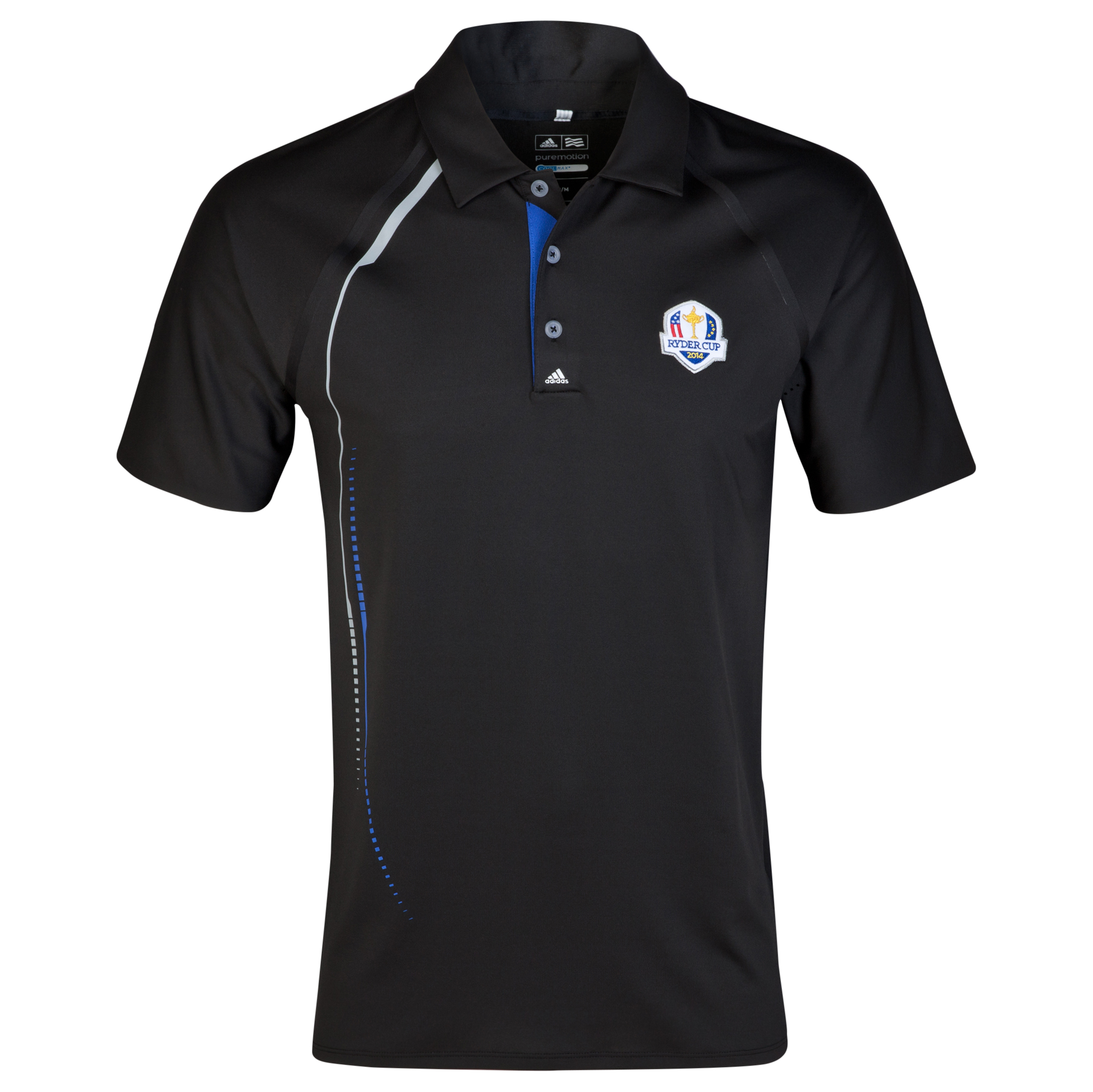 The 2014 Ryder Cup Puremotion Graphic Print Polo Black