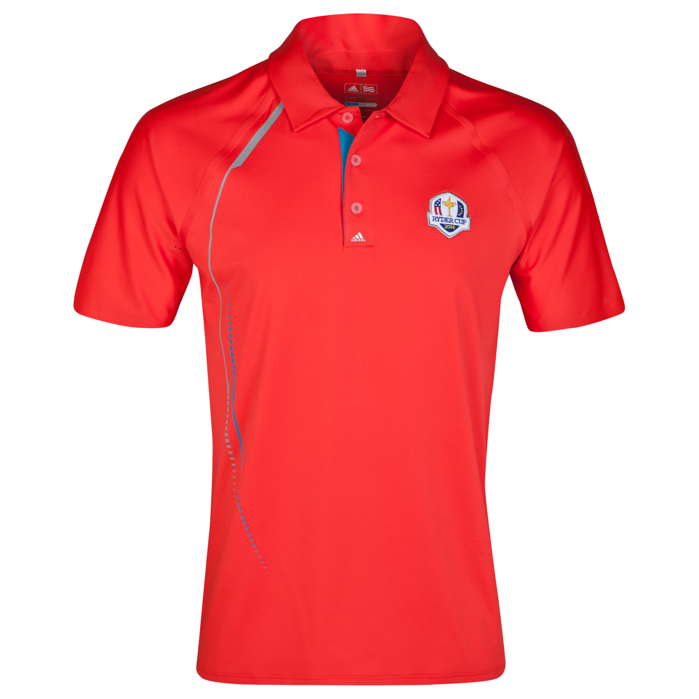 The 2014 Ryder Cup Puremotion Graphic Print Polo Red