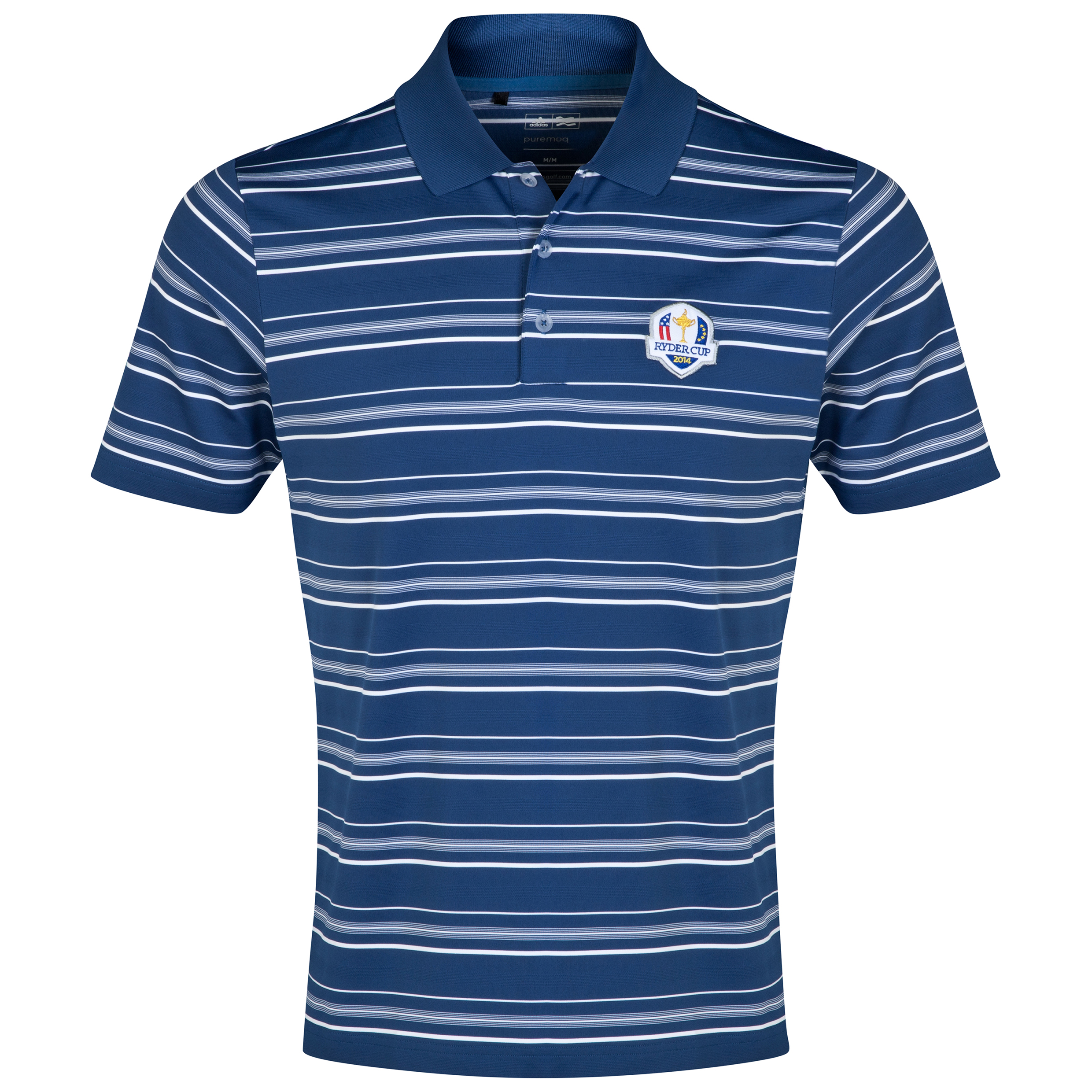 The 2014 Ryder Cup ClimaLite 2-Colour Stripe Polo Navy