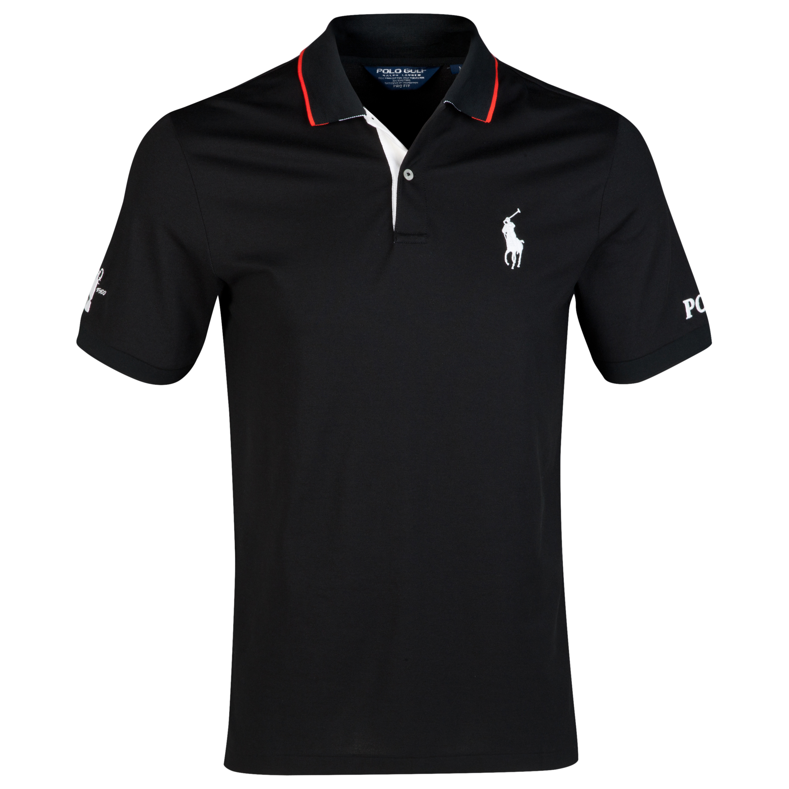 The Open Championship Royal Liverpool 2014 Big Pony Solid Polo Black