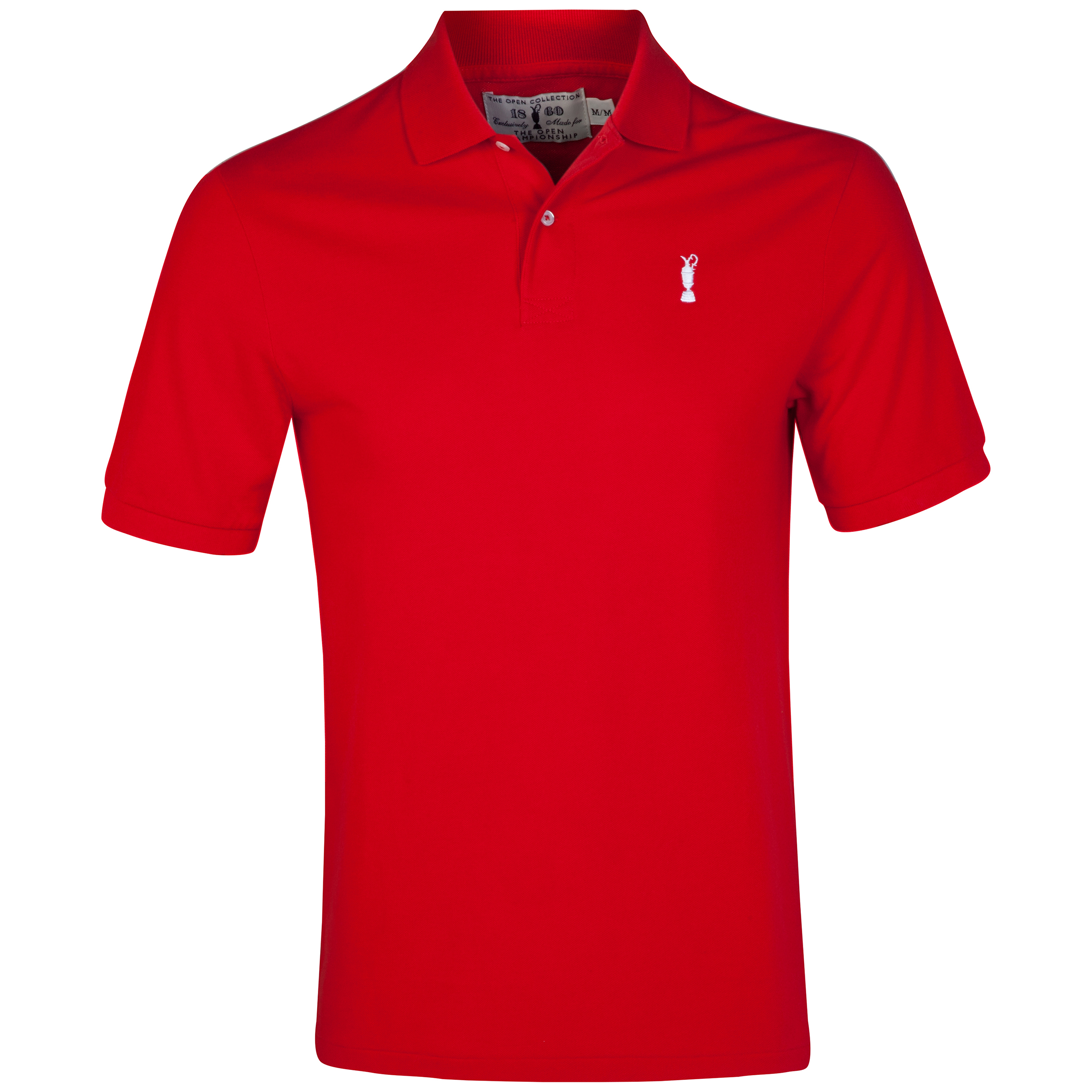 The Open Championship Collection Solid Polo Red