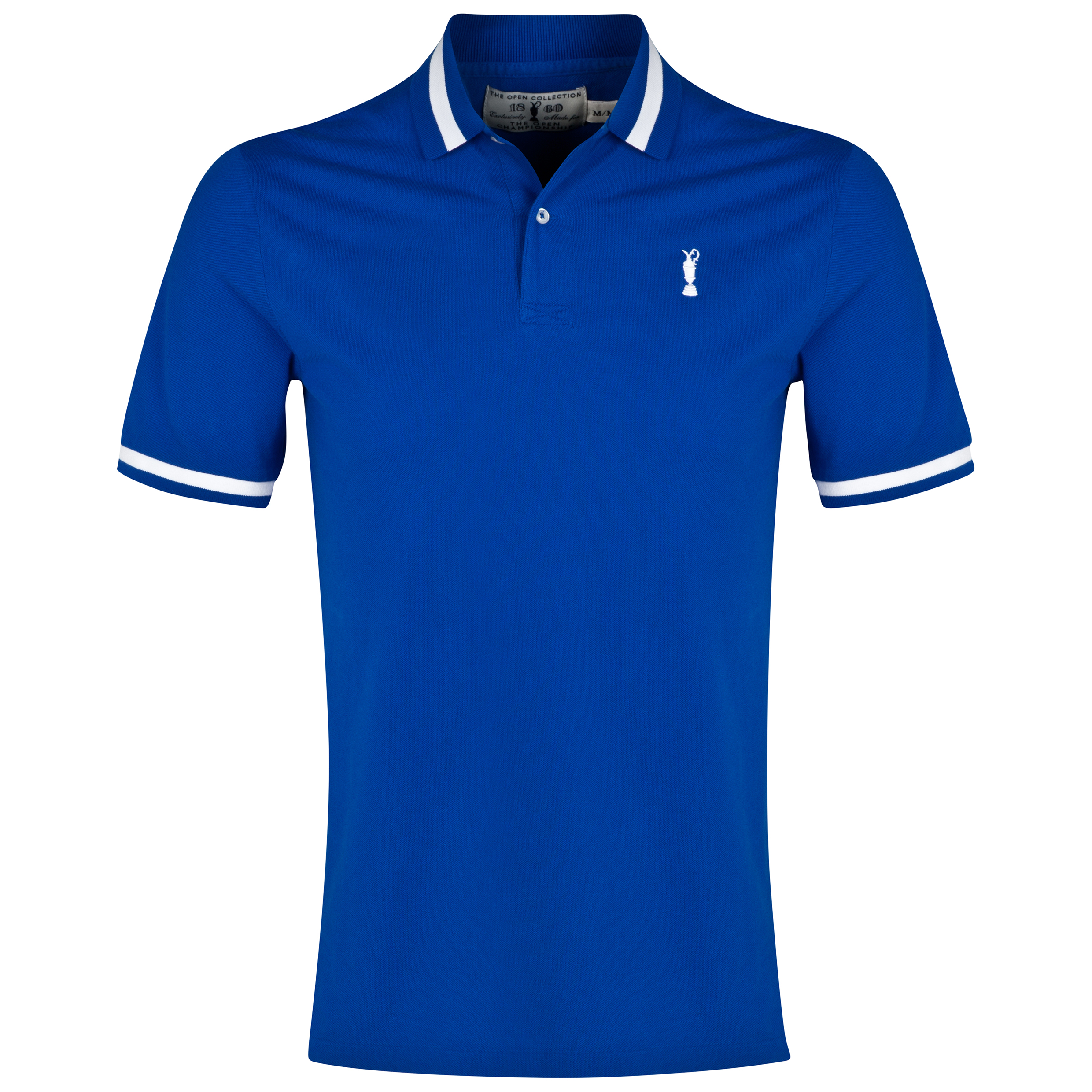 The Open Championship Collection Stripe Polo - Sapphire Star