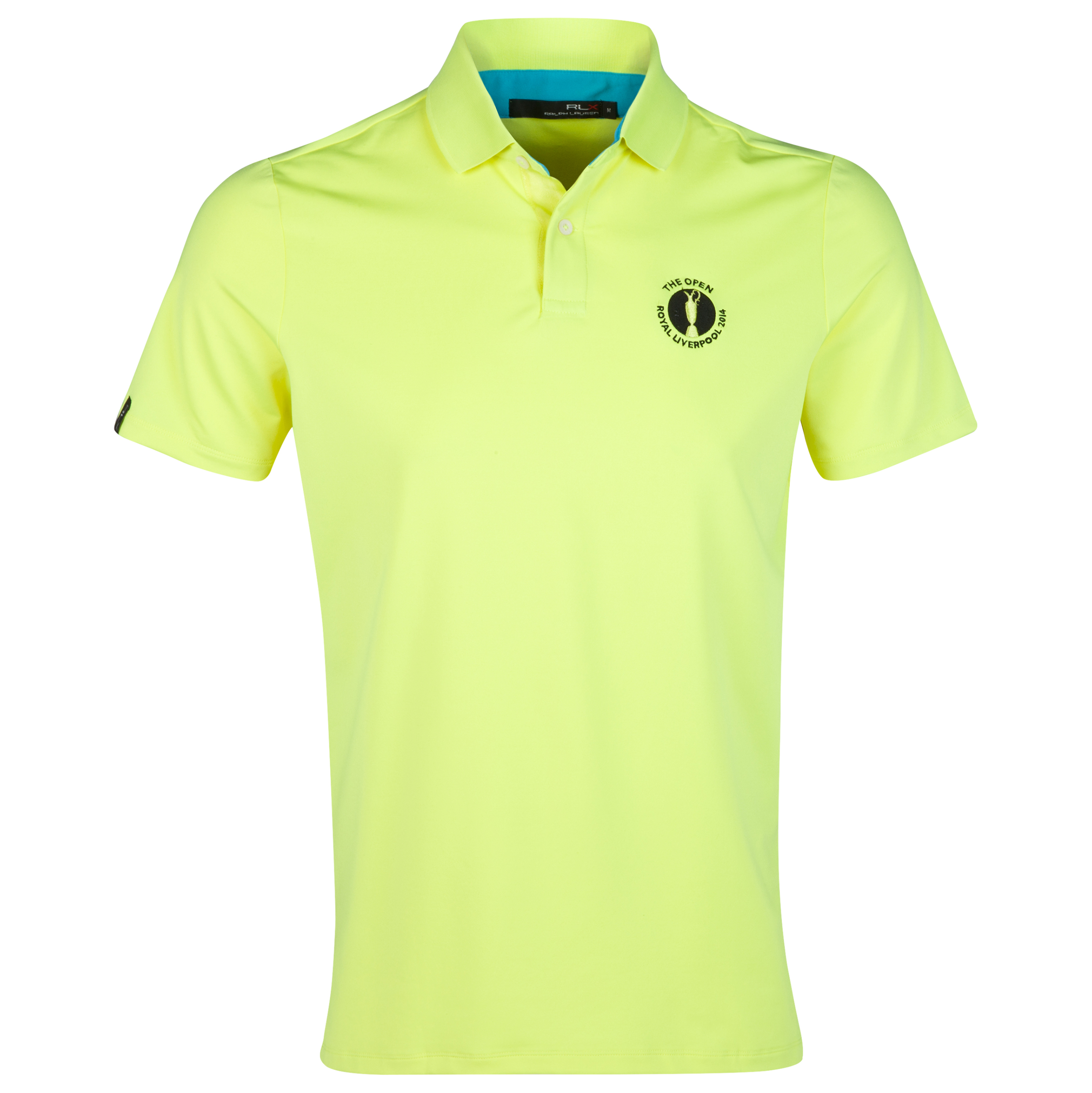 The Open Championship Royal Liverpool 2014 RLX Solid Polo Yellow